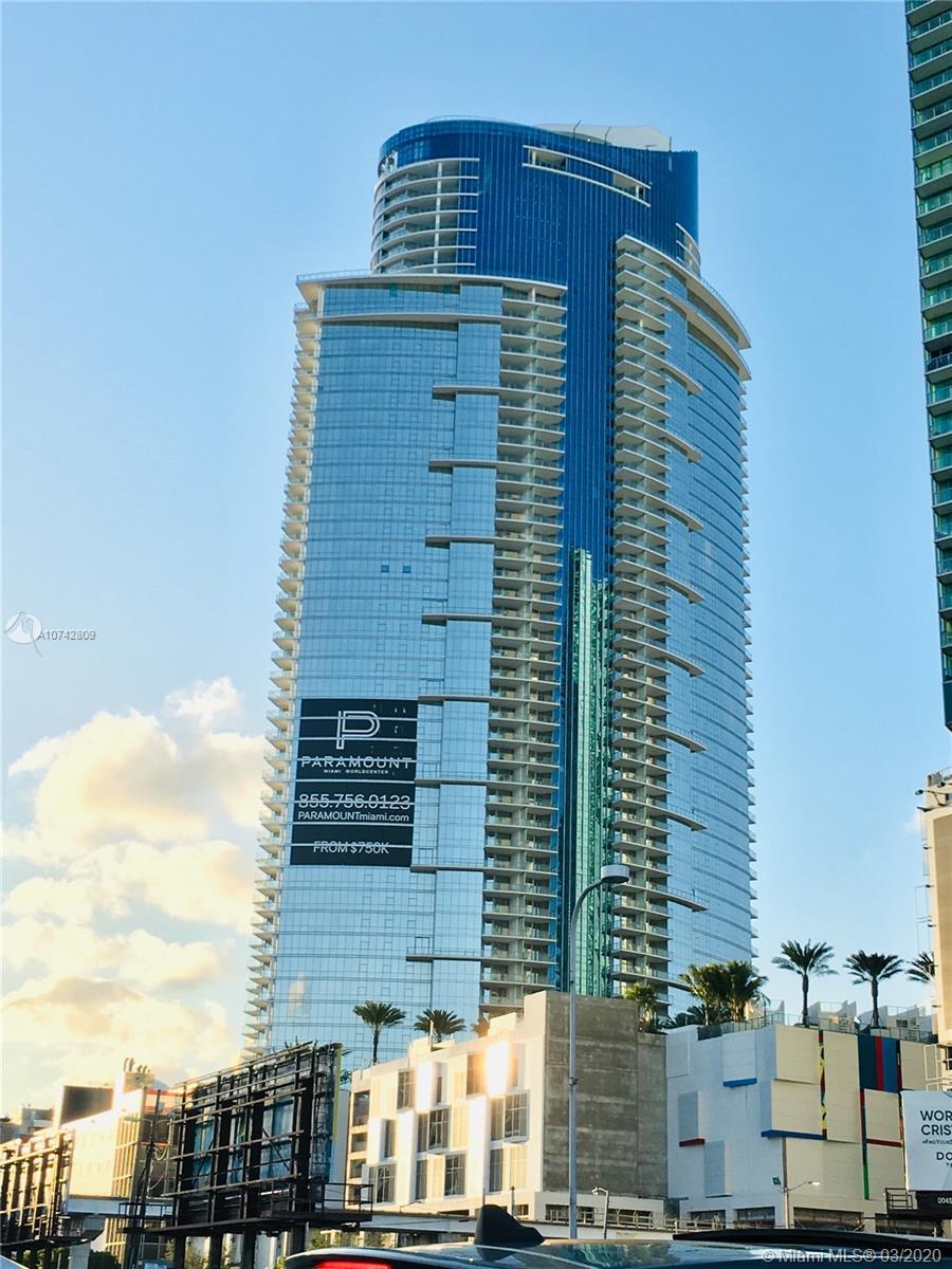Paramount Miami Worldcenter #2307 - 851 NE 1 AVE #2307, Miami, FL 33132