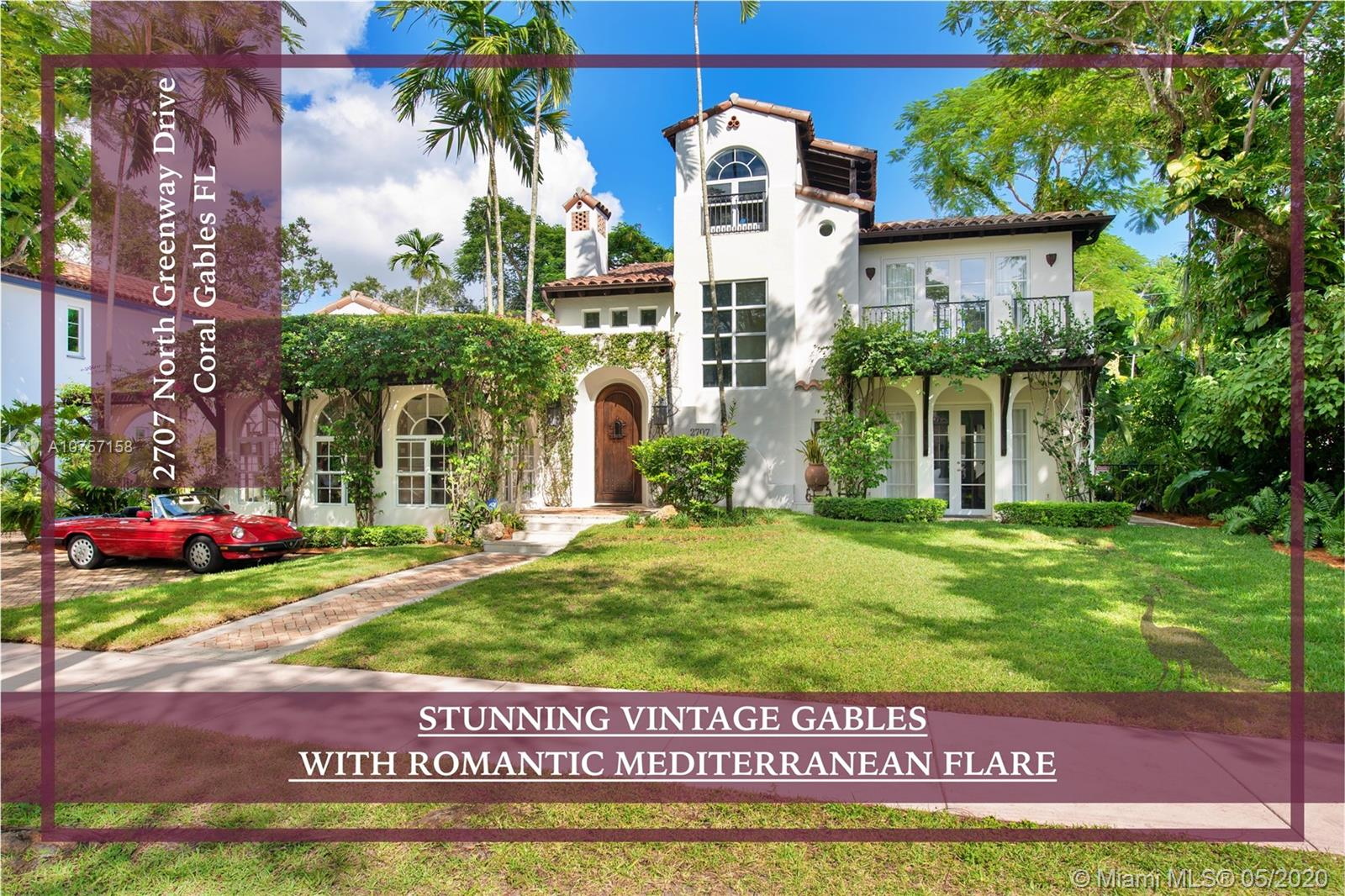 2707 N Greenway Dr, Coral Gables, Florida 33134, 5 Bedrooms Bedrooms, ,5 BathroomsBathrooms,Residential,For Sale,2707 N Greenway Dr,A10757158