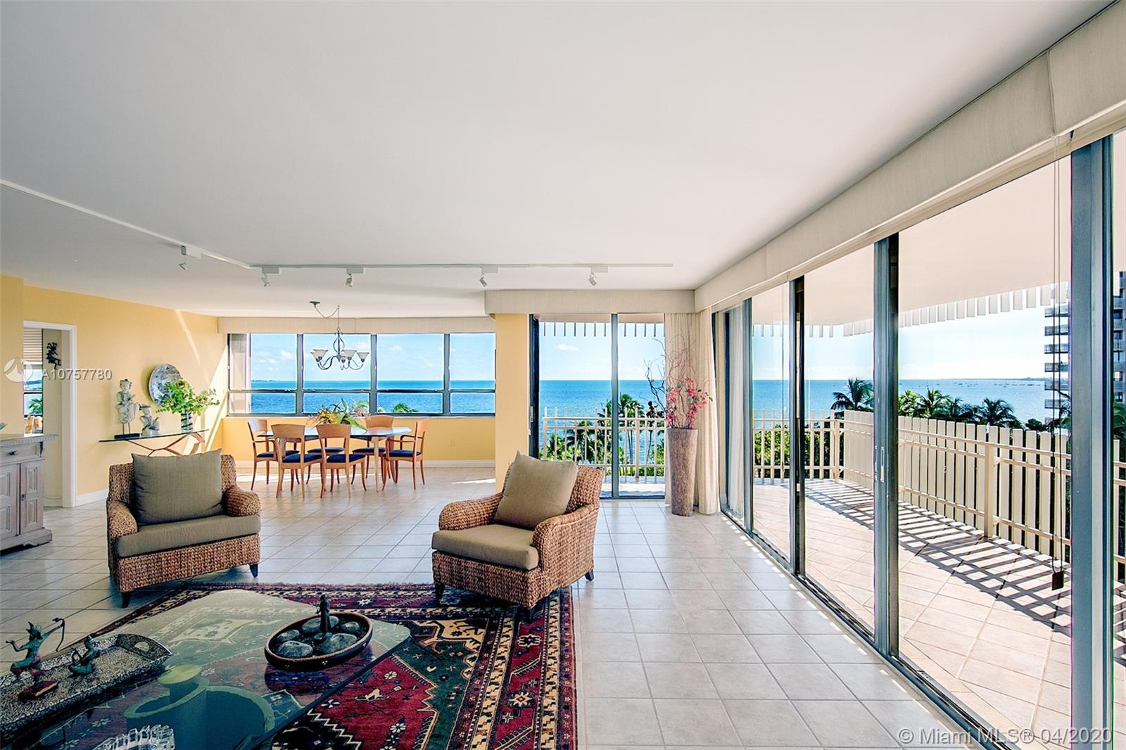 2 Grove Isle Dr # B602, Coconut Grove, Florida 33133, 3 Bedrooms Bedrooms, ,2 BathroomsBathrooms,Residential,For Sale,2 Grove Isle Dr # B602,A10757780