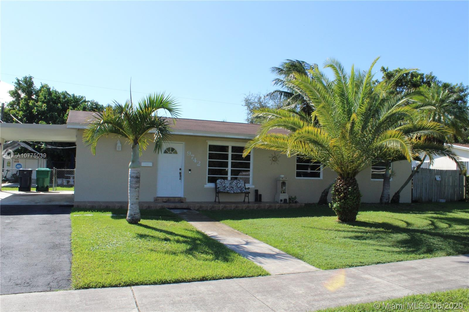 9742 SW 165th St, Miami, Florida 33157, 3 Bedrooms Bedrooms, ,2 BathroomsBathrooms,Residential,For Sale,9742 SW 165th St,A10775039