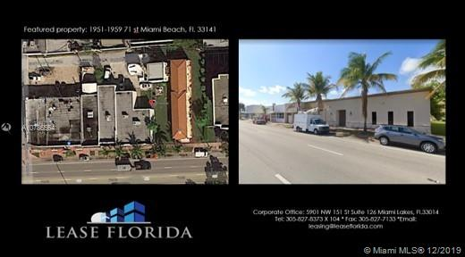 1951 71 st, Miami Beach, Florida 33141, ,Commercial Sale,For Sale,1951 71 st,A10786564