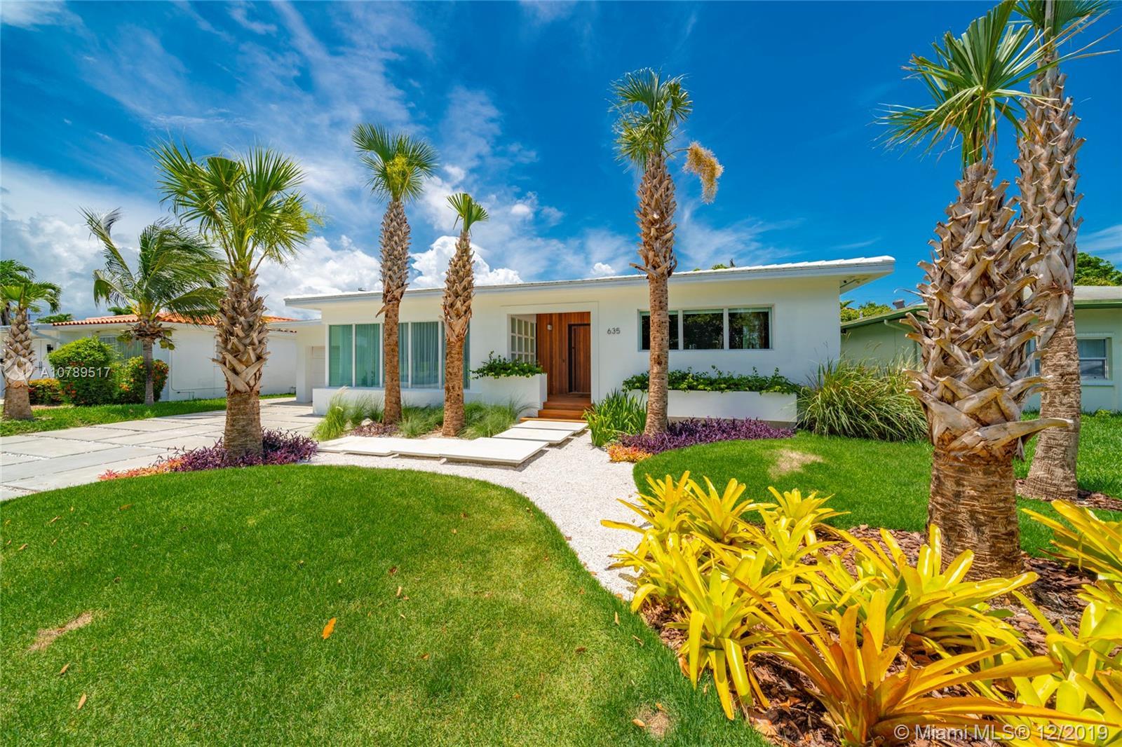 635 Fairway Dr - Miami Beach, Florida