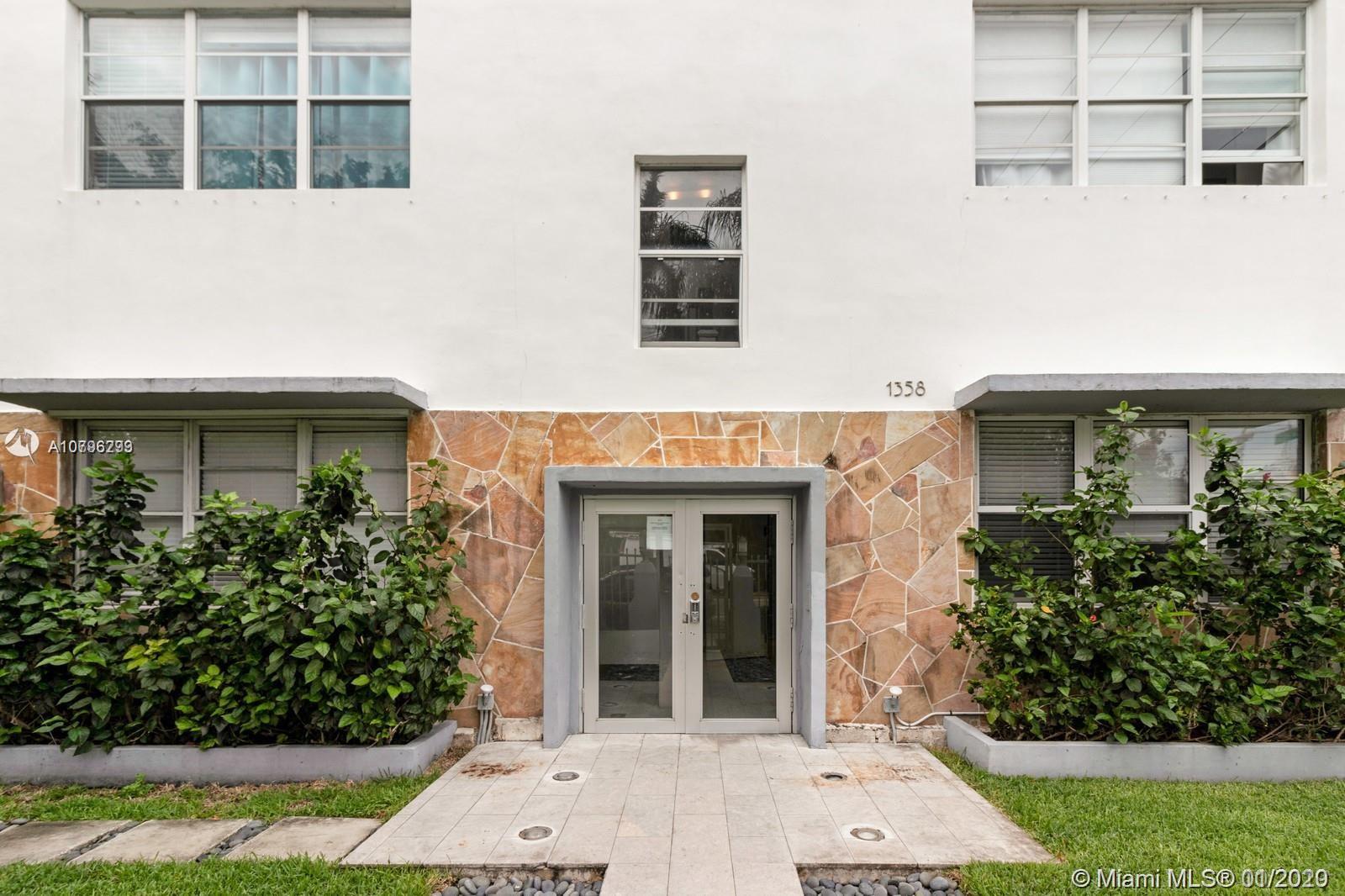 1358 Pennsylvania Ave # 302, Miami Beach, Florida 33139, 1 Bedroom Bedrooms, ,1 BathroomBathrooms,Residential,For Sale,1358 Pennsylvania Ave # 302,A10796293