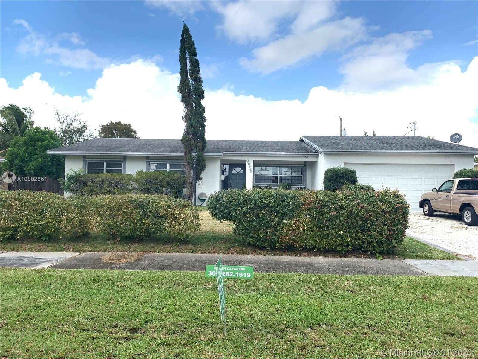 9955 SW 161st St, Miami, Florida 33157, 3 Bedrooms Bedrooms, ,2 BathroomsBathrooms,Residential Lease,For Rent,9955 SW 161st St,A10802861