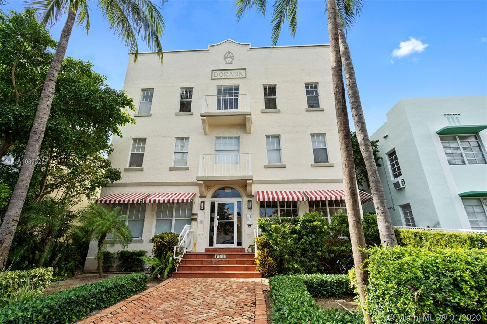 1244 Pennsylvania Ave # 302, Miami Beach, Florida 33139, 1 Bedroom Bedrooms, ,1 BathroomBathrooms,Residential,For Sale,1244 Pennsylvania Ave # 302,A10803261
