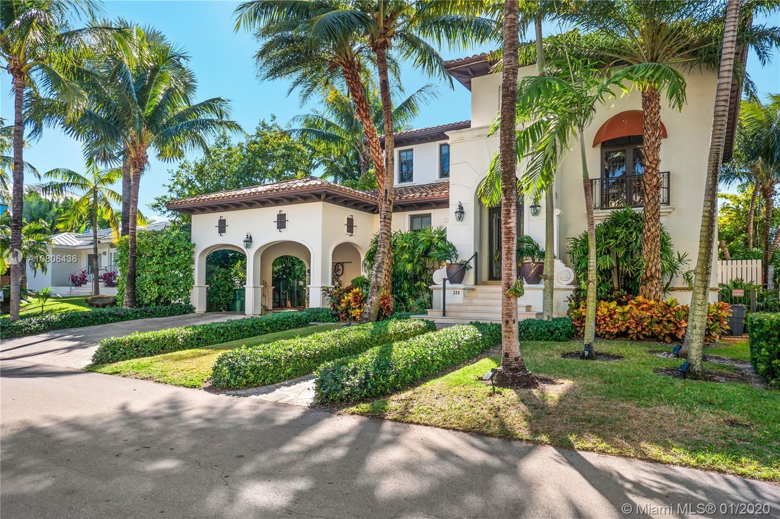Tropical Isle Homes - 320 Palmwood Ln, Key Biscayne, FL 33149