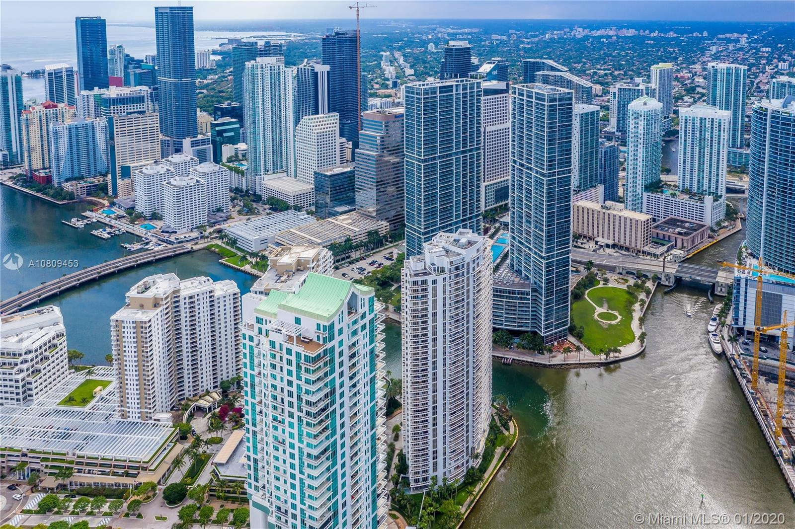 Photo of 900 Brickell Key Blvd #2704 listing for Sale