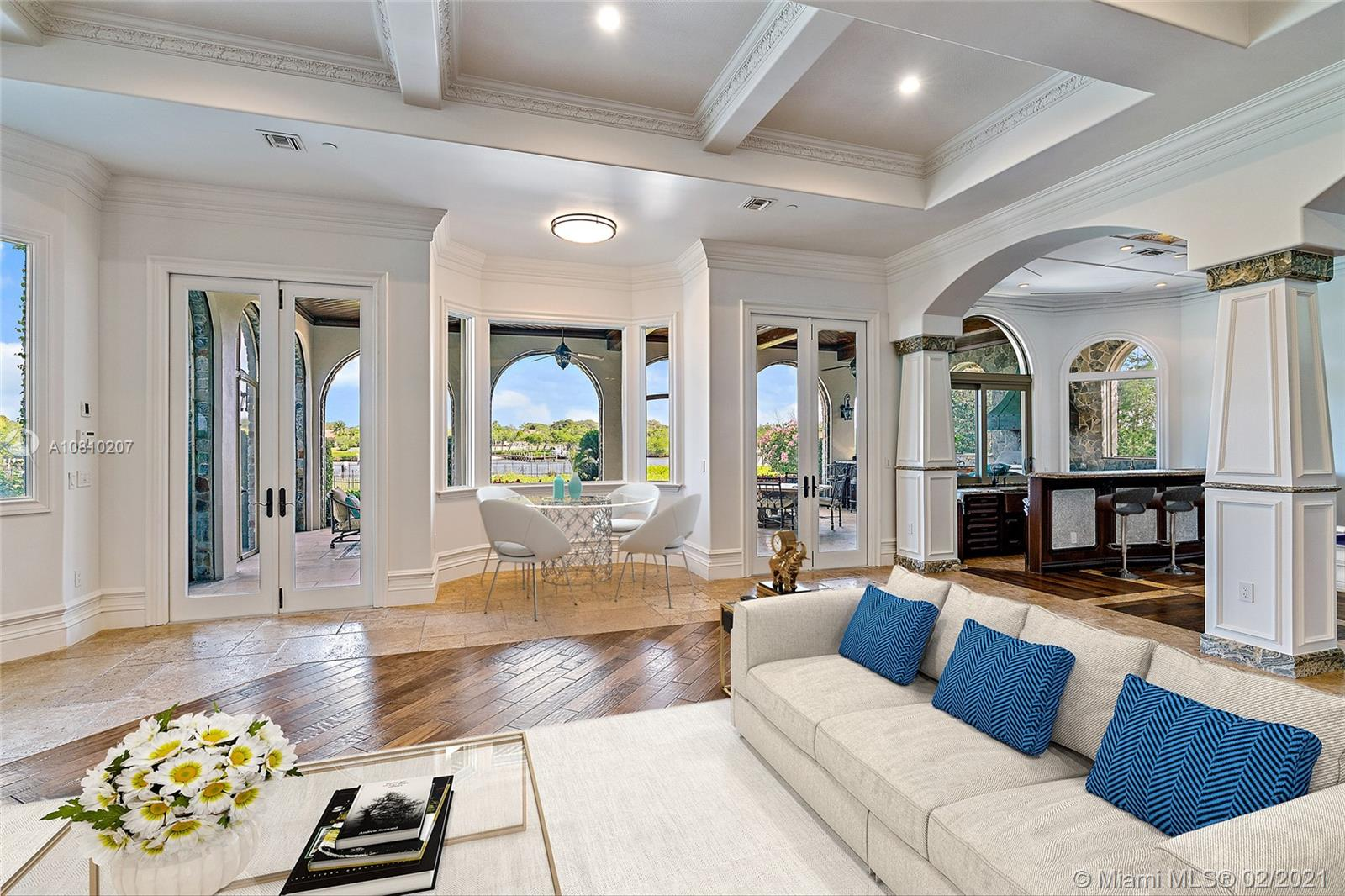 Virtually Staged Great Room