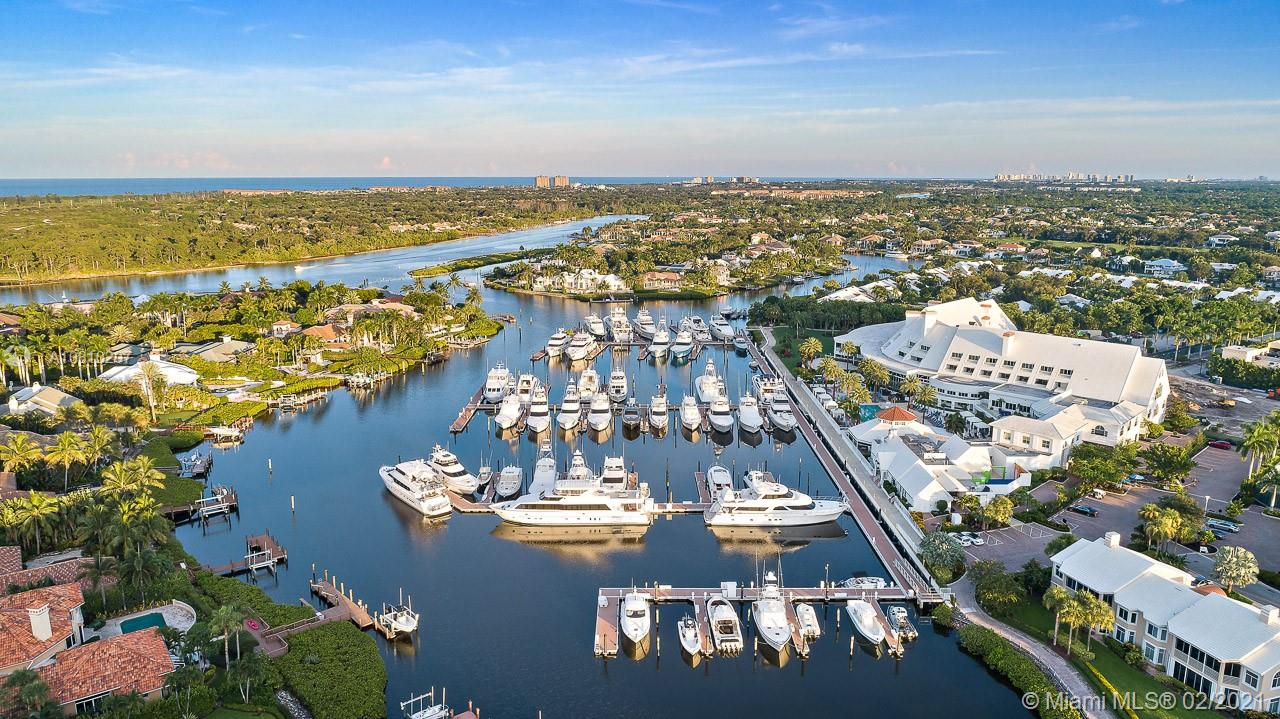 Clubhouse & Marina Aerial