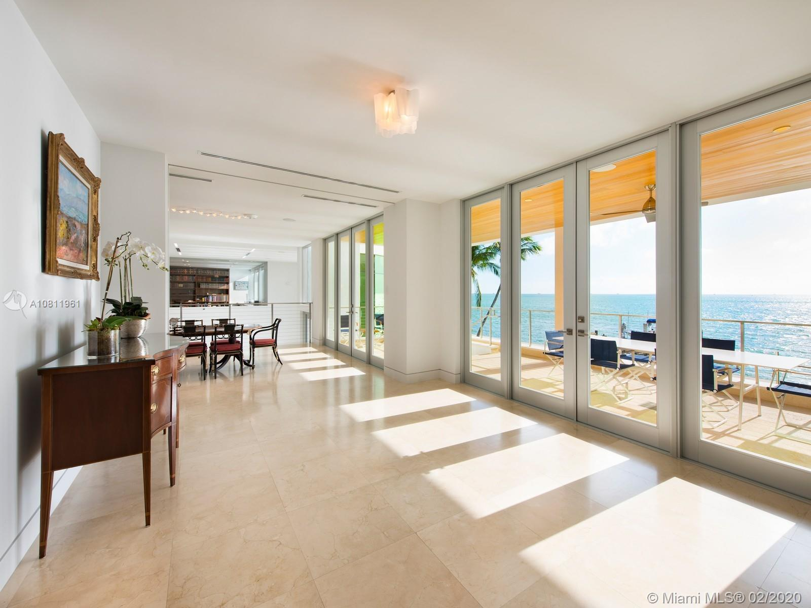 Ocean views from kitchen, breakfast area and dining room.