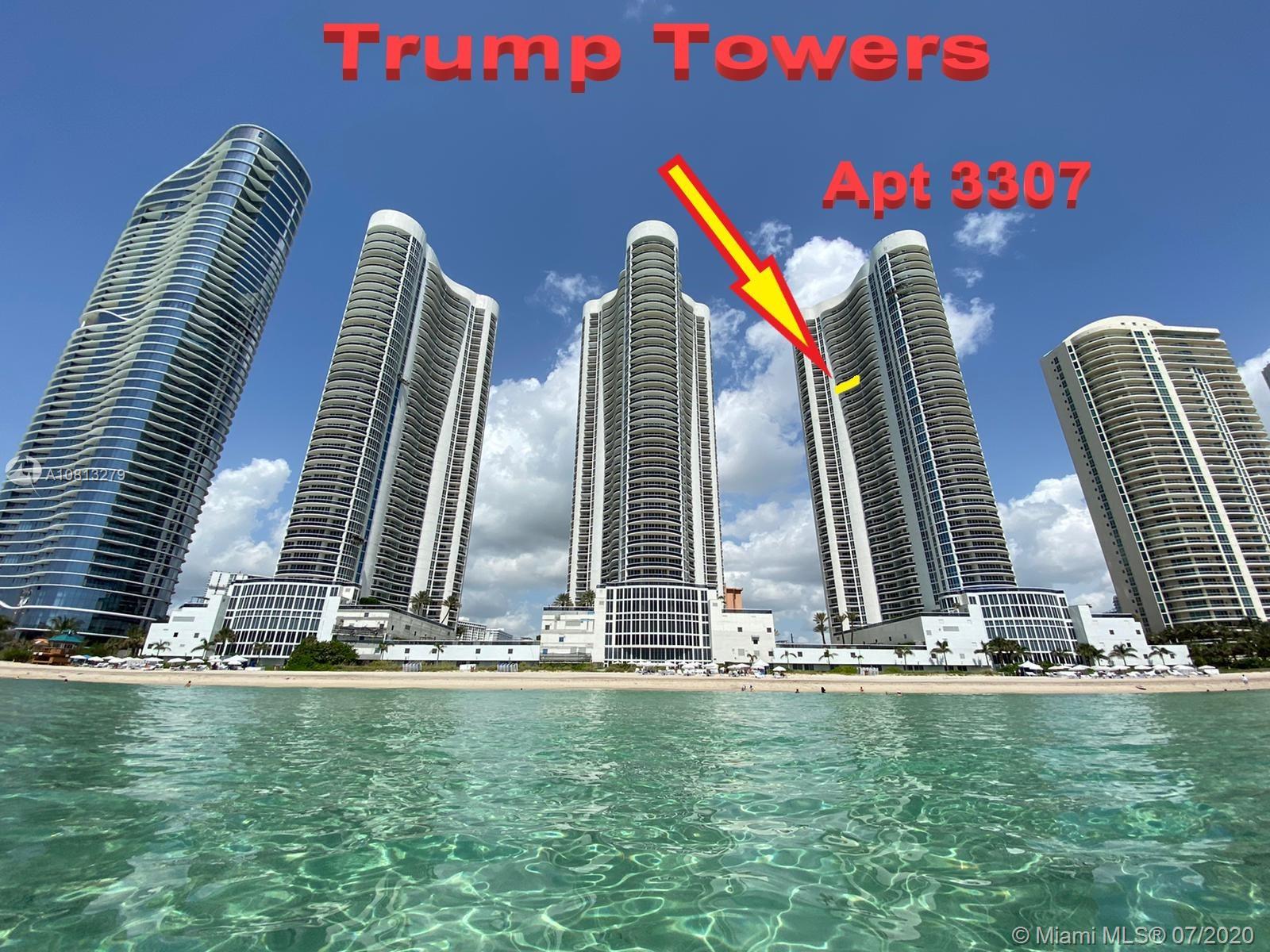 Trump Tower I #3307 - 16001 Collins Ave #3307, Sunny Isles Beach, FL 33160