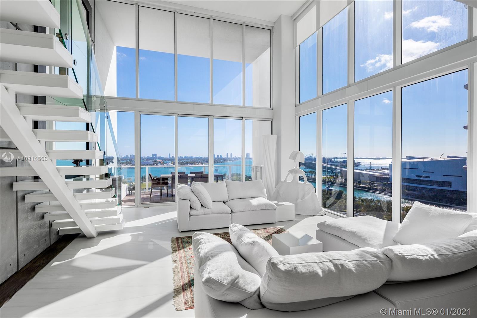 1040 Biscayne Blvd # 1201, Miami, Florida 33132, 2 Bedrooms Bedrooms, ,3 BathroomsBathrooms,Residential,For Sale,1040 Biscayne Blvd # 1201,A10814506