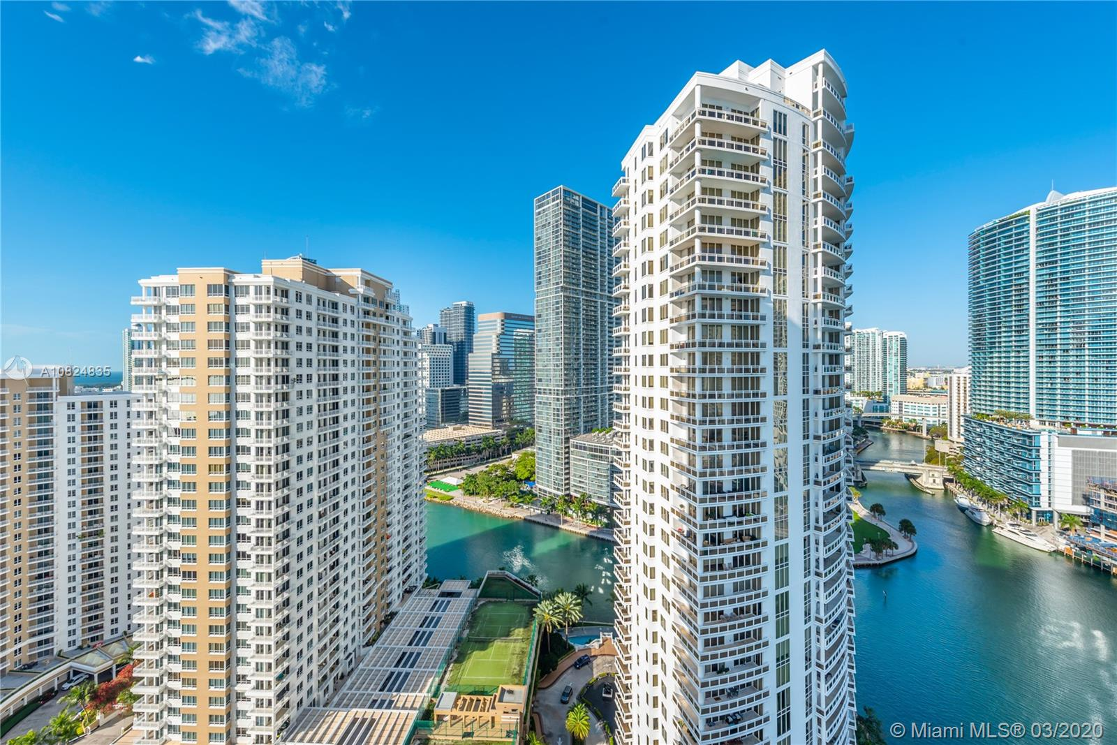 Photo of 900 Brickell Key Blvd #2301 listing for Sale