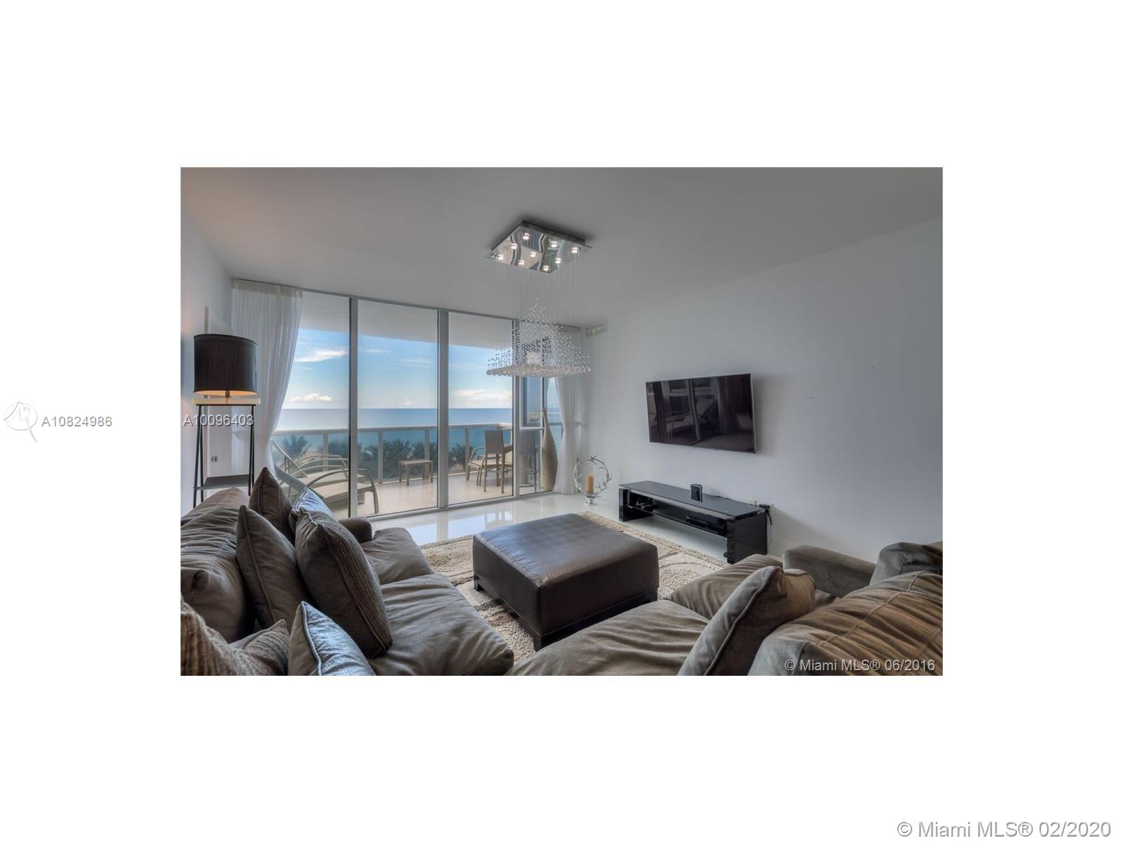 This stunning Sunny Isles Beach residence in Trump Royale is a 3 bed / 3.5 bath masterpiece and comes exquisitely finished & furnished. Unit features are open concept living area, Sub Zero refrigerator, quartz countertops, large walk-in closets, window treatments and expansive ocean views from every room. Enjoy Trump's 5-star resort style living with 3 on-site restaurants, 24/7 room service, concierge, beach club, 3 pools, 4 hot tubs, tennis courts, dog park, luxury spa, gym, free valet and much more