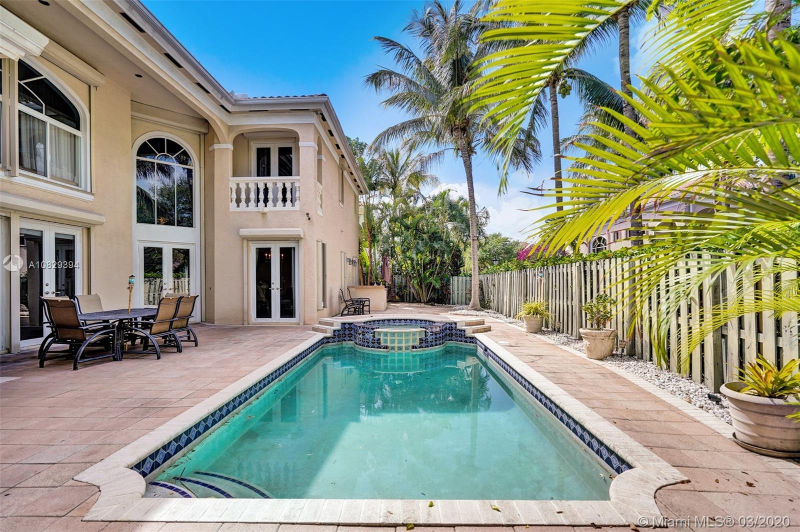 Courtyard Home Pool