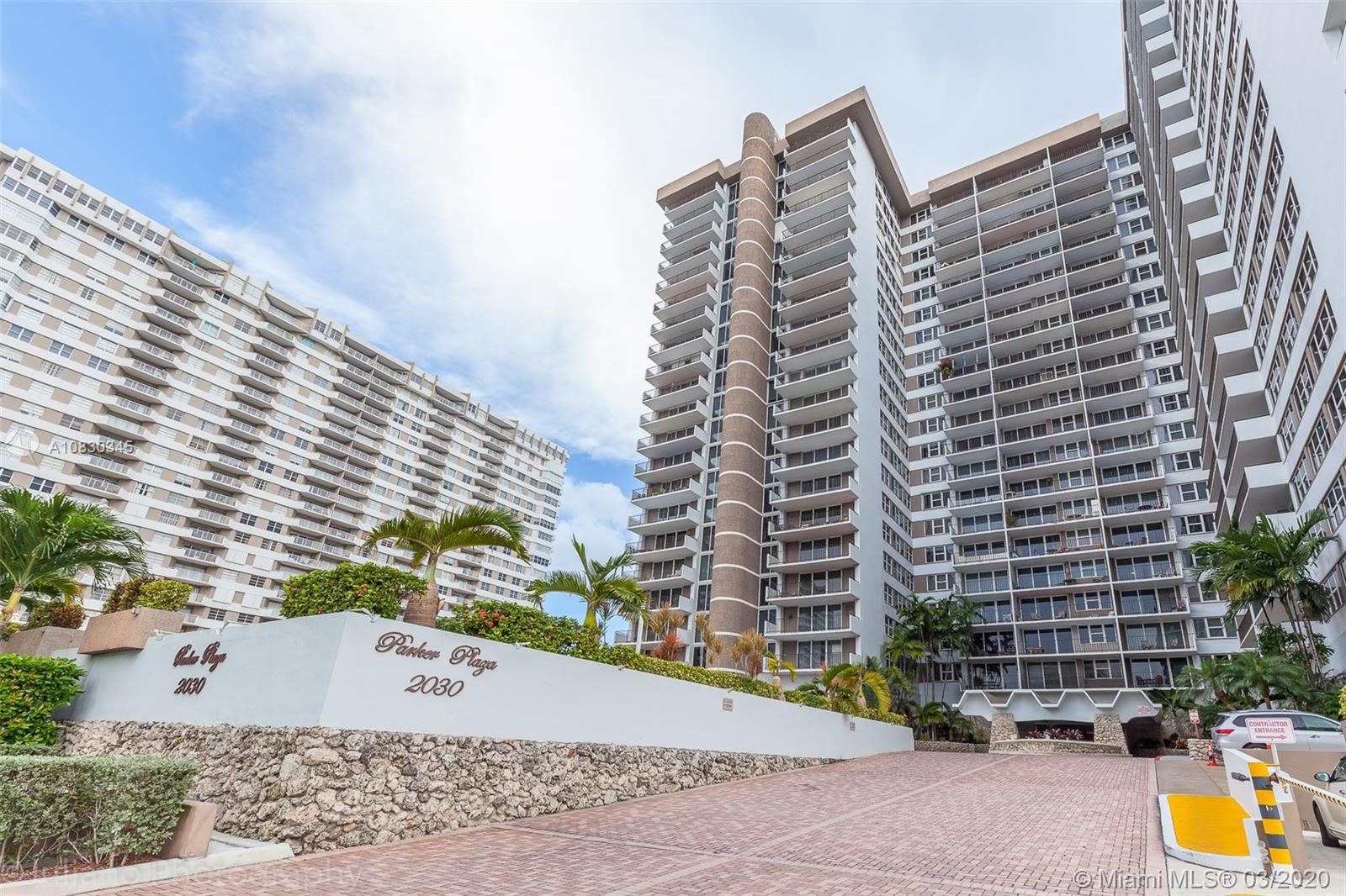 Parker Plaza #1222 - 2030 S Ocean Dr #1222, Hallandale Beach, FL 33009