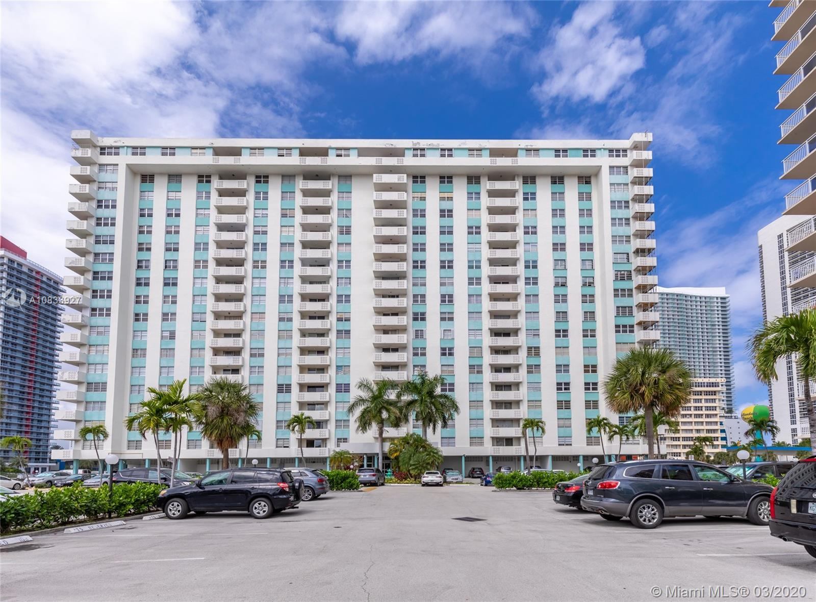 Plaza North Tower #707 - 1833 S Ocean Dr #707, Hallandale Beach, FL 33009
