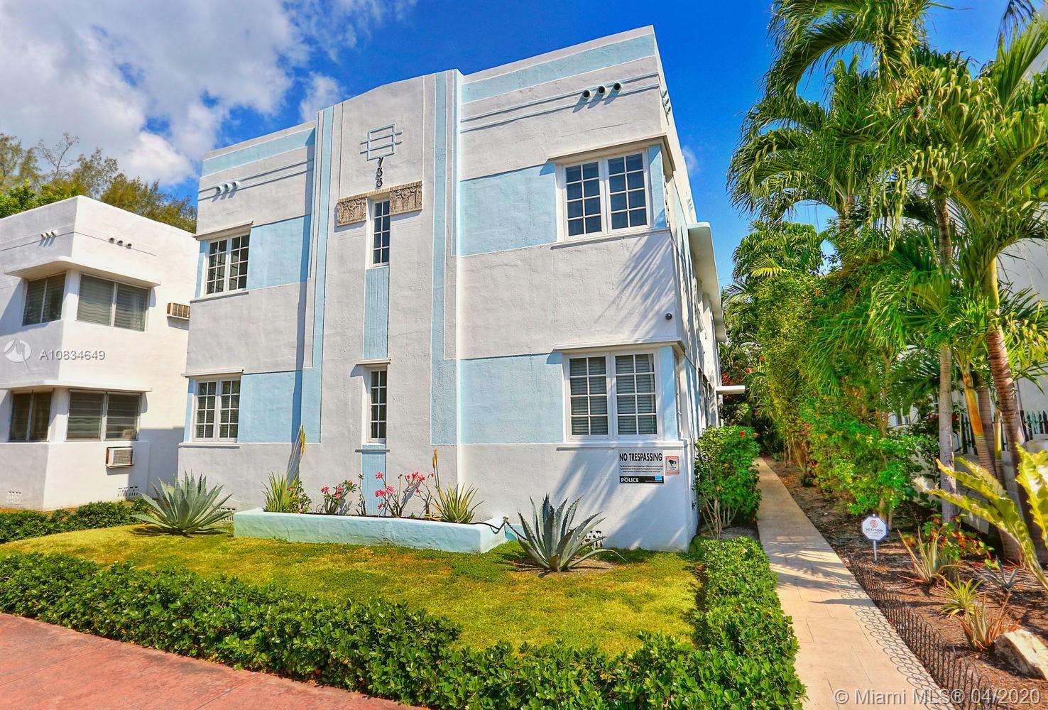 735 14th Pl # 3, Miami Beach, Florida 33139, 2 Bedrooms Bedrooms, ,2 BathroomsBathrooms,Residential,For Sale,735 14th Pl # 3,A10834649