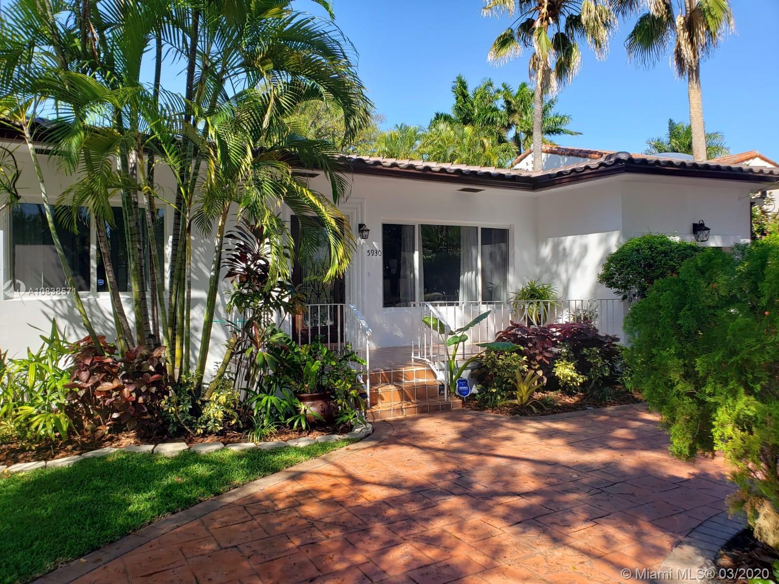 5930 Alton Rd, Miami Beach, Florida 33140, 3 Bedrooms Bedrooms, ,3 BathroomsBathrooms,Residential Lease,For Rent,5930 Alton Rd,A10838571