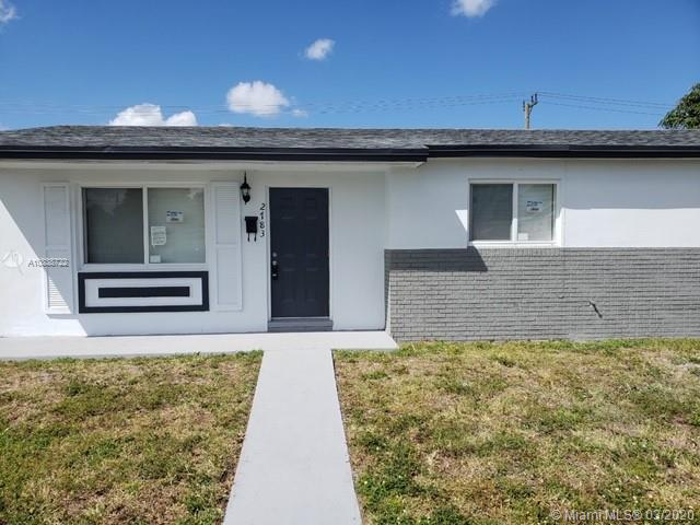 2783 NW 212th Ter, Miami Gardens, Florida 33056, 3 Bedrooms Bedrooms, ,2 BathroomsBathrooms,Residential,For Sale,2783 NW 212th Ter,A10838722