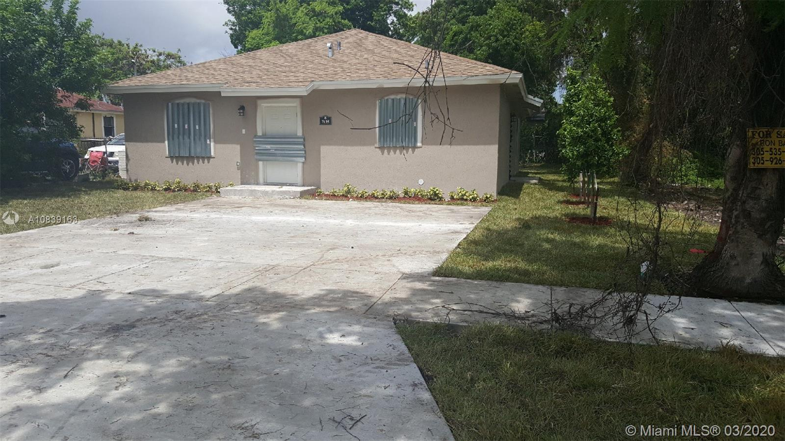 806 NW 114 STREET, Miami, Florida 33168, 4 Bedrooms Bedrooms, ,2 BathroomsBathrooms,Residential,For Sale,806 NW 114 STREET,A10839163