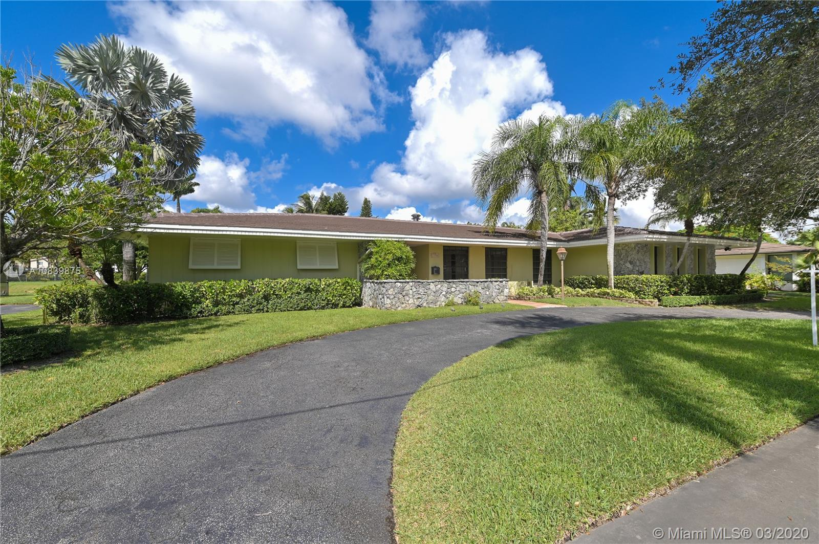 11700 SW 72nd Ave, Pinecrest, Florida 33156, 4 Bedrooms Bedrooms, ,3 BathroomsBathrooms,Residential,For Sale,11700 SW 72nd Ave,A10839875