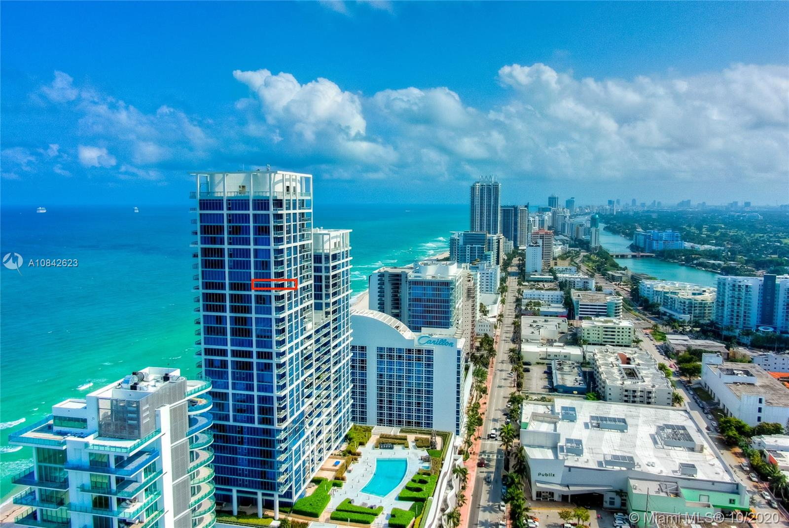 Carillon North Tower #1710 - 6899 Collins Ave #1710, Miami Beach, FL 33141