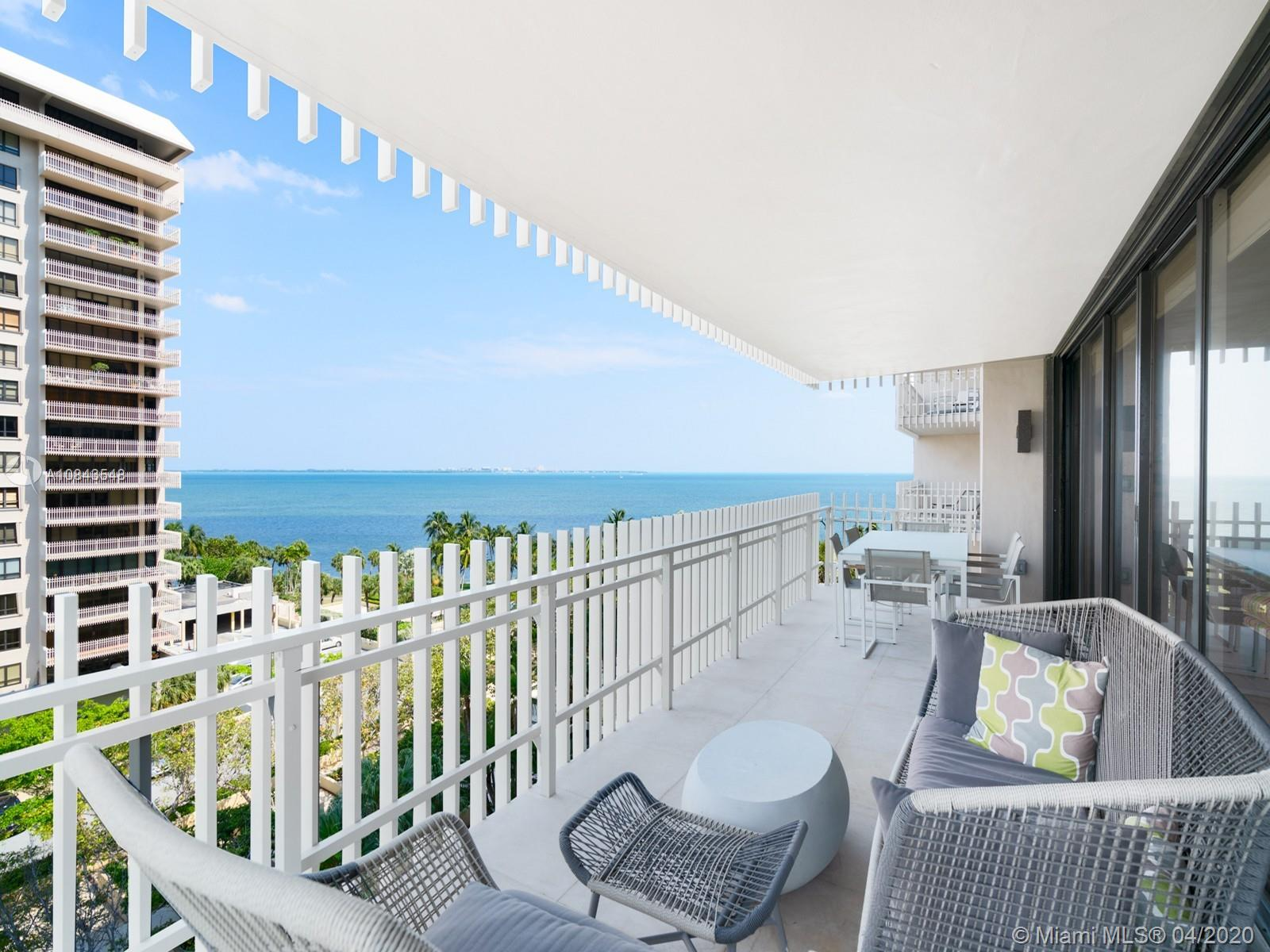 1 Grove Isle Dr # A809, Miami, Florida 33133, 3 Bedrooms Bedrooms, ,3 BathroomsBathrooms,Residential,For Sale,1 Grove Isle Dr # A809,A10843548