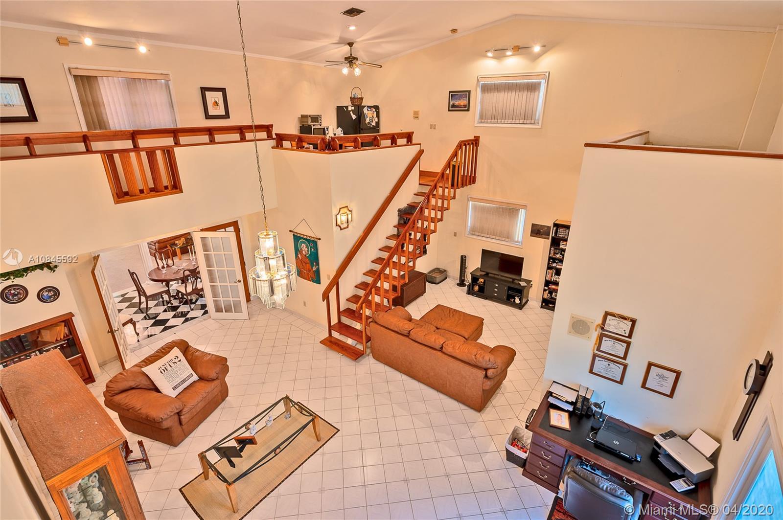 Loft Bedroom - hall way view