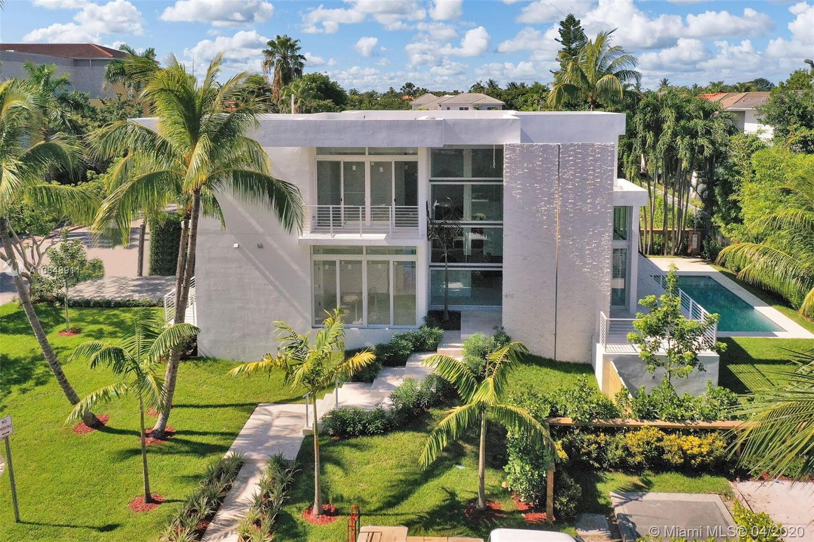 Property for sale at 610 Ridgewood Rd, Key Biscayne,  Florida 33149