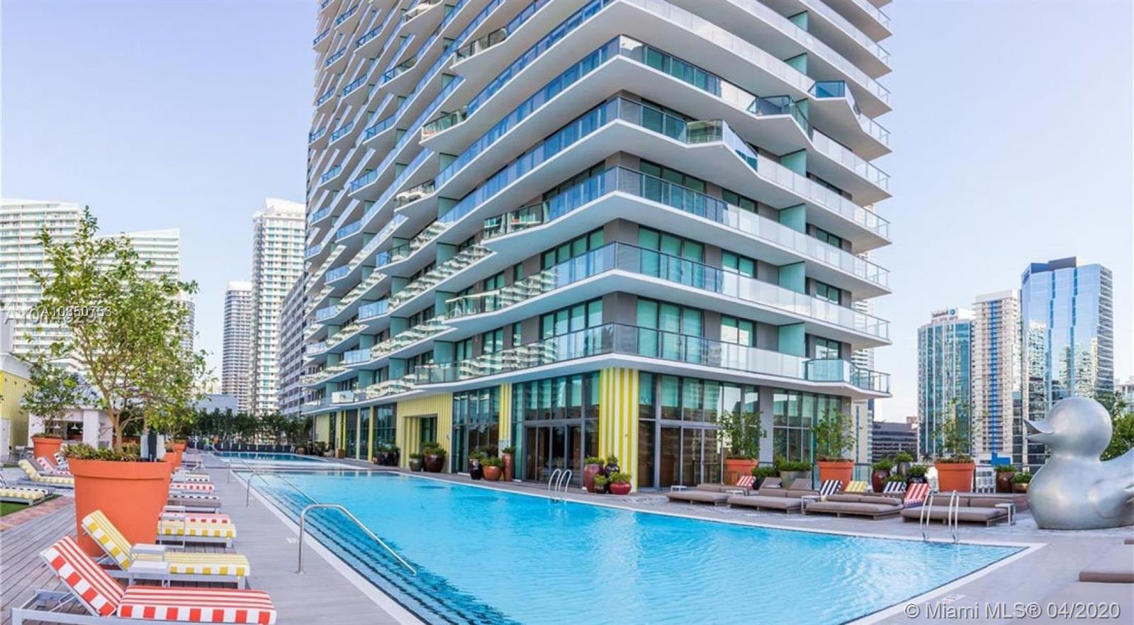 SLS Brickell #3203 - 1300 S Miami Ave #3203, Miami, FL 33130