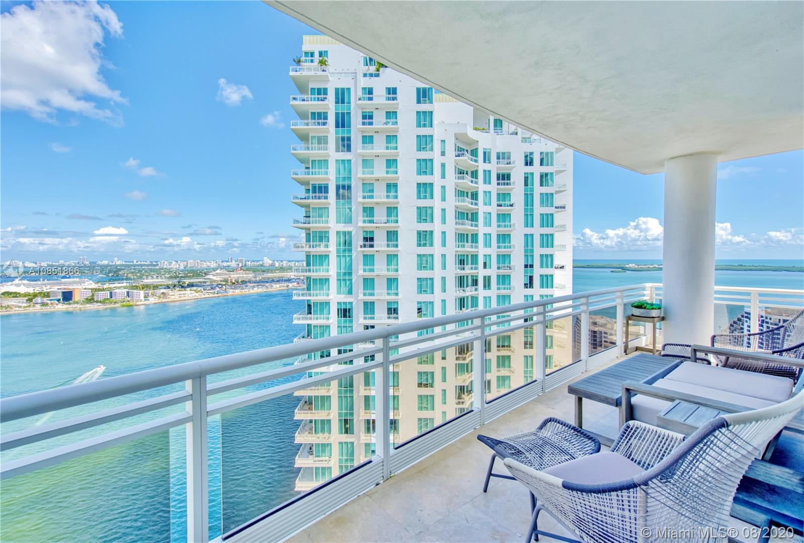 Carbonell #3408 - 901 Brickell Key Blvd #3408, Miami, FL 33131