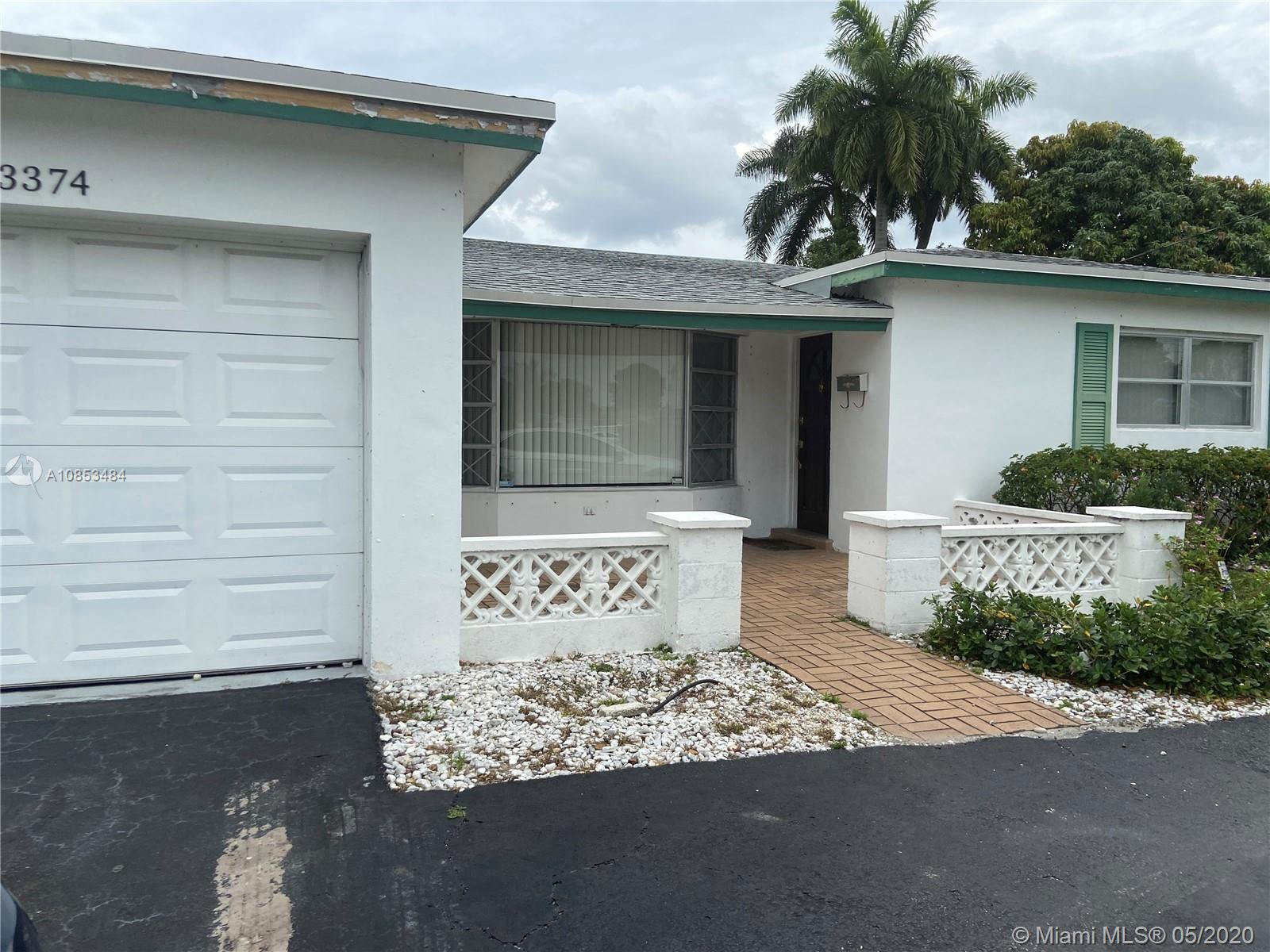 3374 NW 33rd Ave, Lauderdale Lakes, Florida 33309, 3 Bedrooms Bedrooms, ,2 BathroomsBathrooms,Residential,For Sale,3374 NW 33rd Ave,A10853484