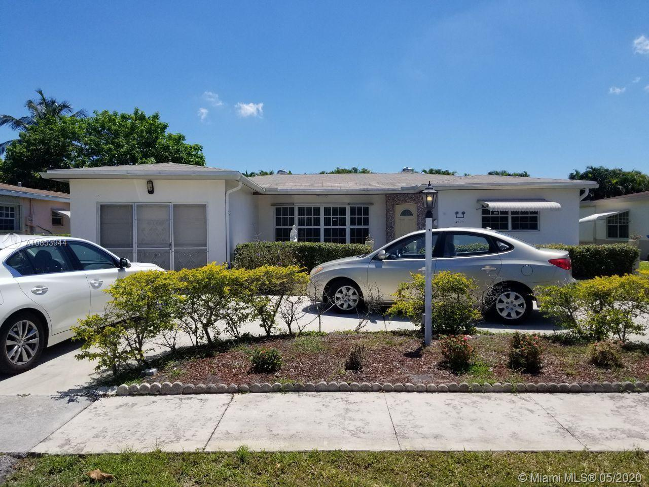 4290 NW 41st Ter, Lauderdale Lakes, Florida 33319, 3 Bedrooms Bedrooms, ,2 BathroomsBathrooms,Residential,For Sale,4290 NW 41st Ter,A10853944