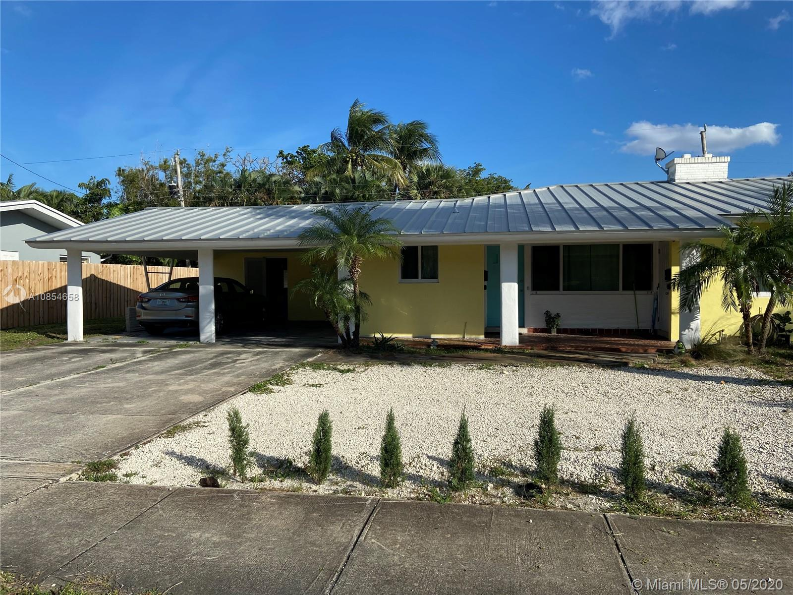 2700 Middle River Dr, Fort Lauderdale, Florida 33306, ,Residential Income,For Sale,2700 Middle River Dr,A10854658