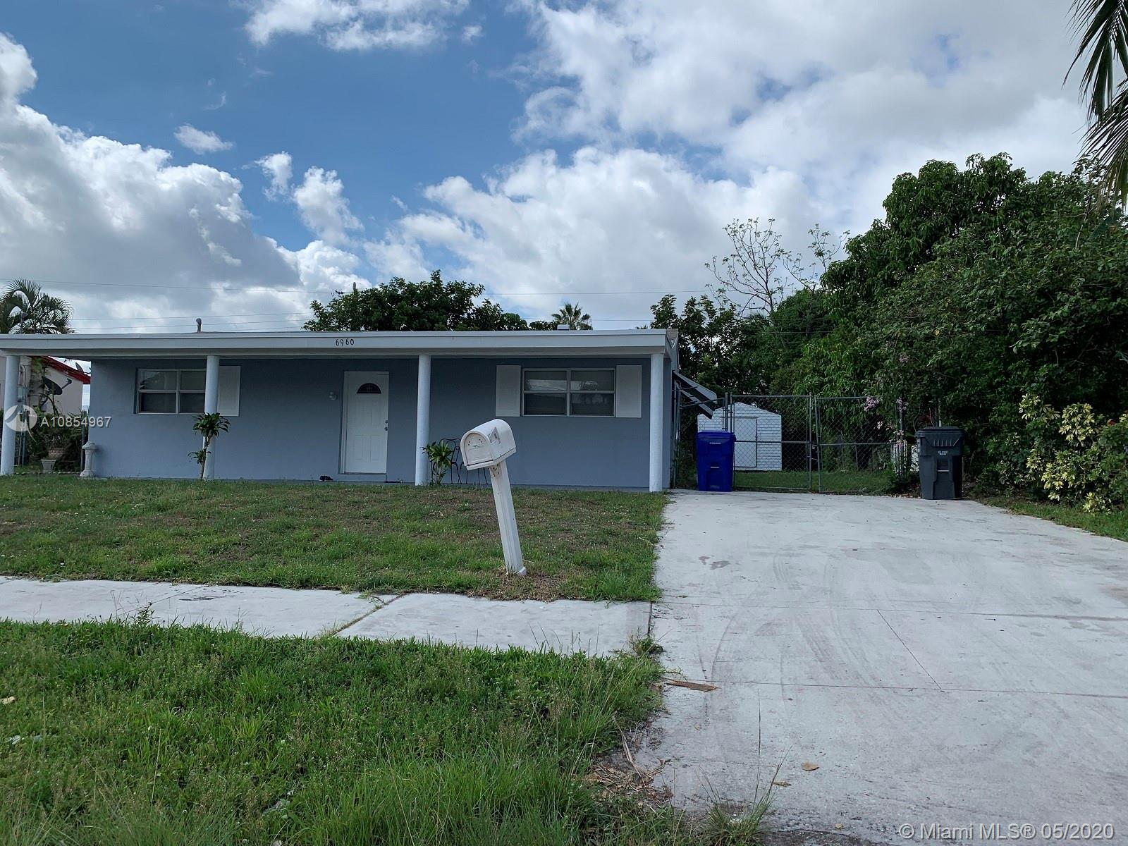 6960 Liberty St, Hollywood, Florida 33024, 4 Bedrooms Bedrooms, ,2 BathroomsBathrooms,Residential,For Sale,6960 Liberty St,A10854967