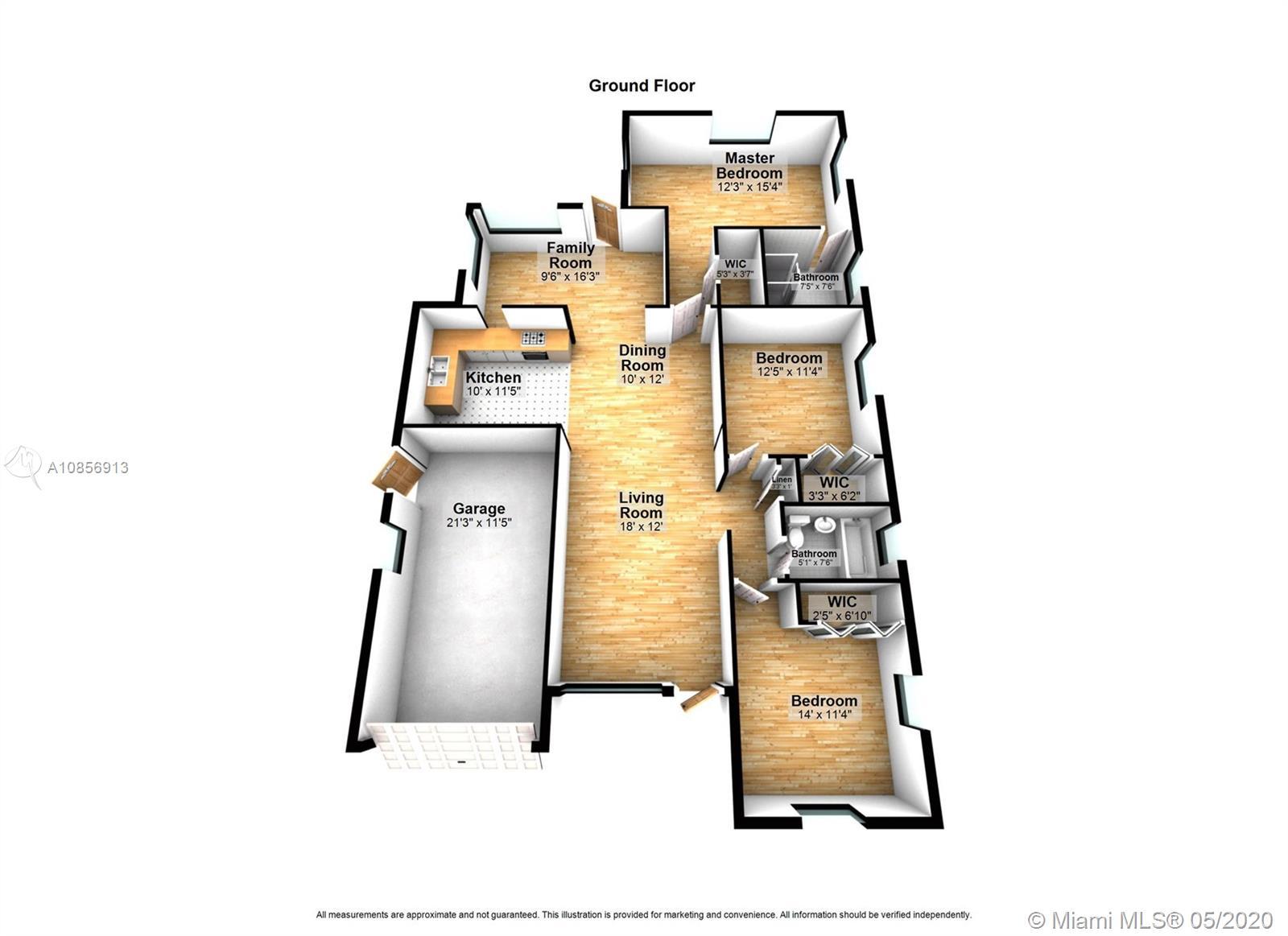 1525 Venetia Ave, Coral Gables, Florida 33134, 3 Bedrooms Bedrooms, ,2 BathroomsBathrooms,Residential,For Sale,1525 Venetia Ave,A10856913