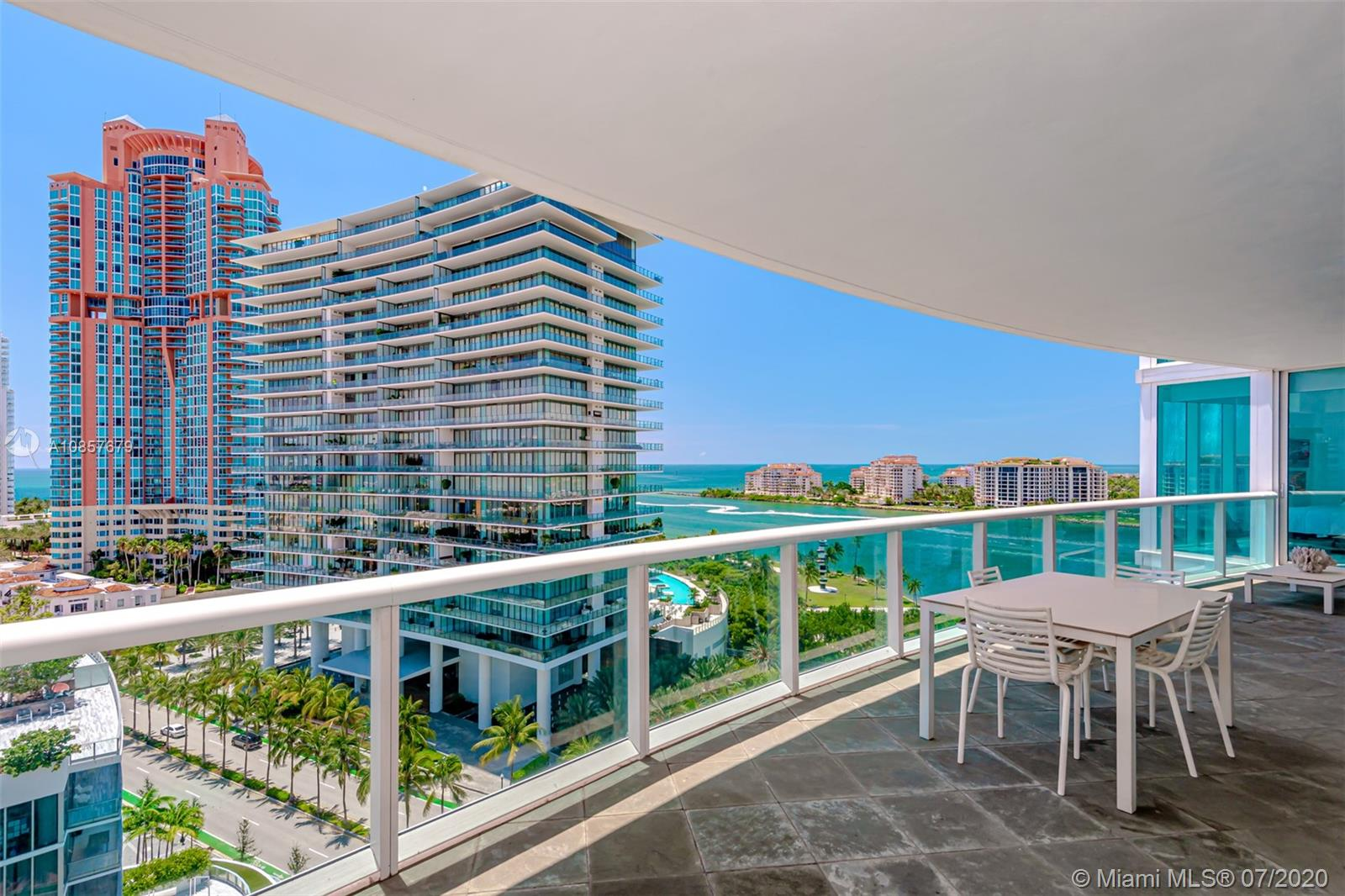 Murano At Portofino #1407 - 1000 S Pointe Dr #1407, Miami Beach, FL 33139
