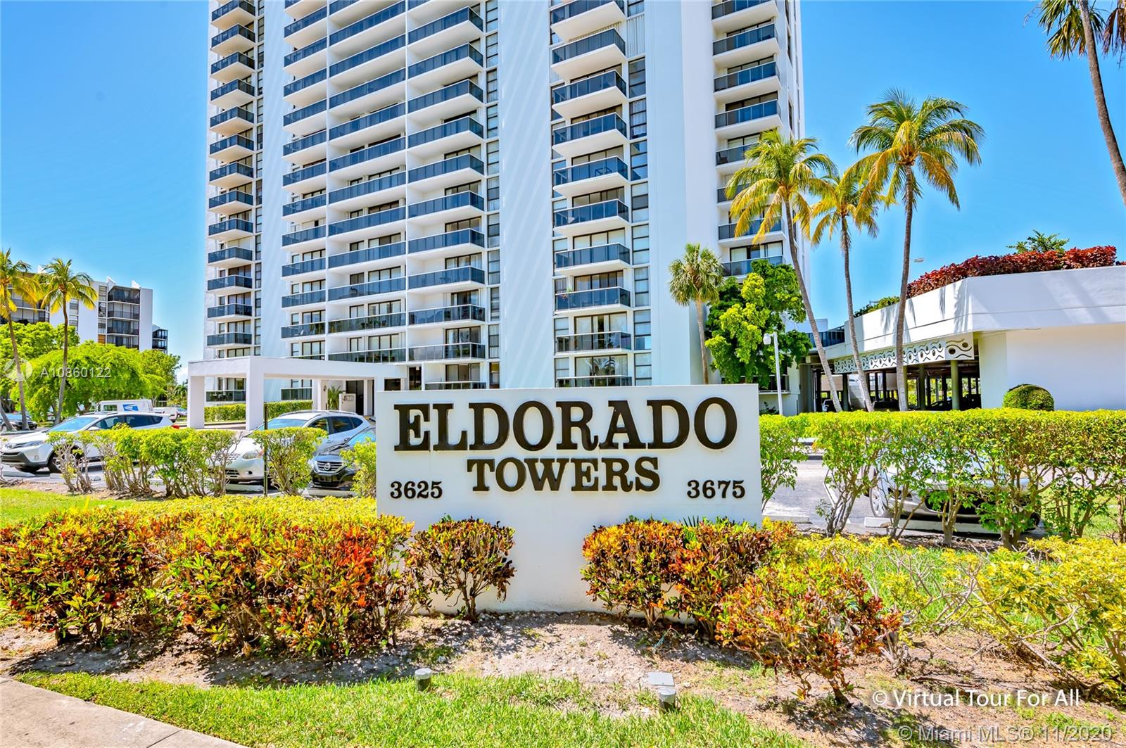 Eldorado Tower Two #1102 - 3675 N Country Club Dr #1102, Aventura, FL 33180