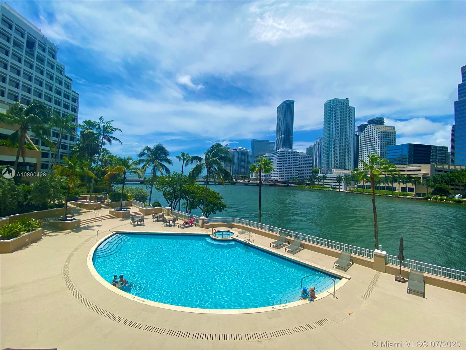 Courvoisier Courts #607 - 701 Brickell Key Blvd #607, Miami, FL 33131