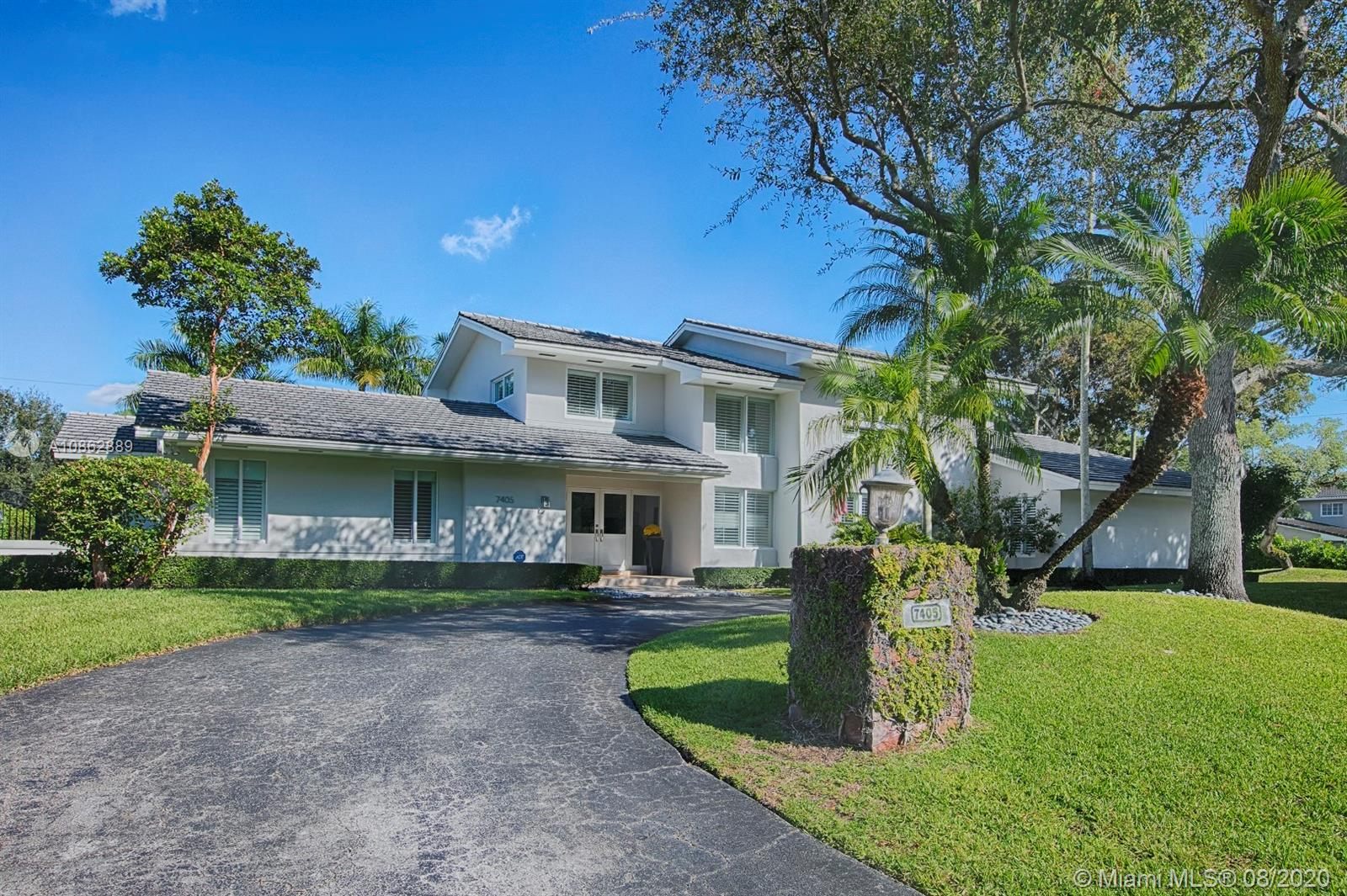 7405 SW 115th St, Pinecrest, Florida 33156, 5 Bedrooms Bedrooms, ,4 BathroomsBathrooms,Residential,For Sale,7405 SW 115th St,A10862889