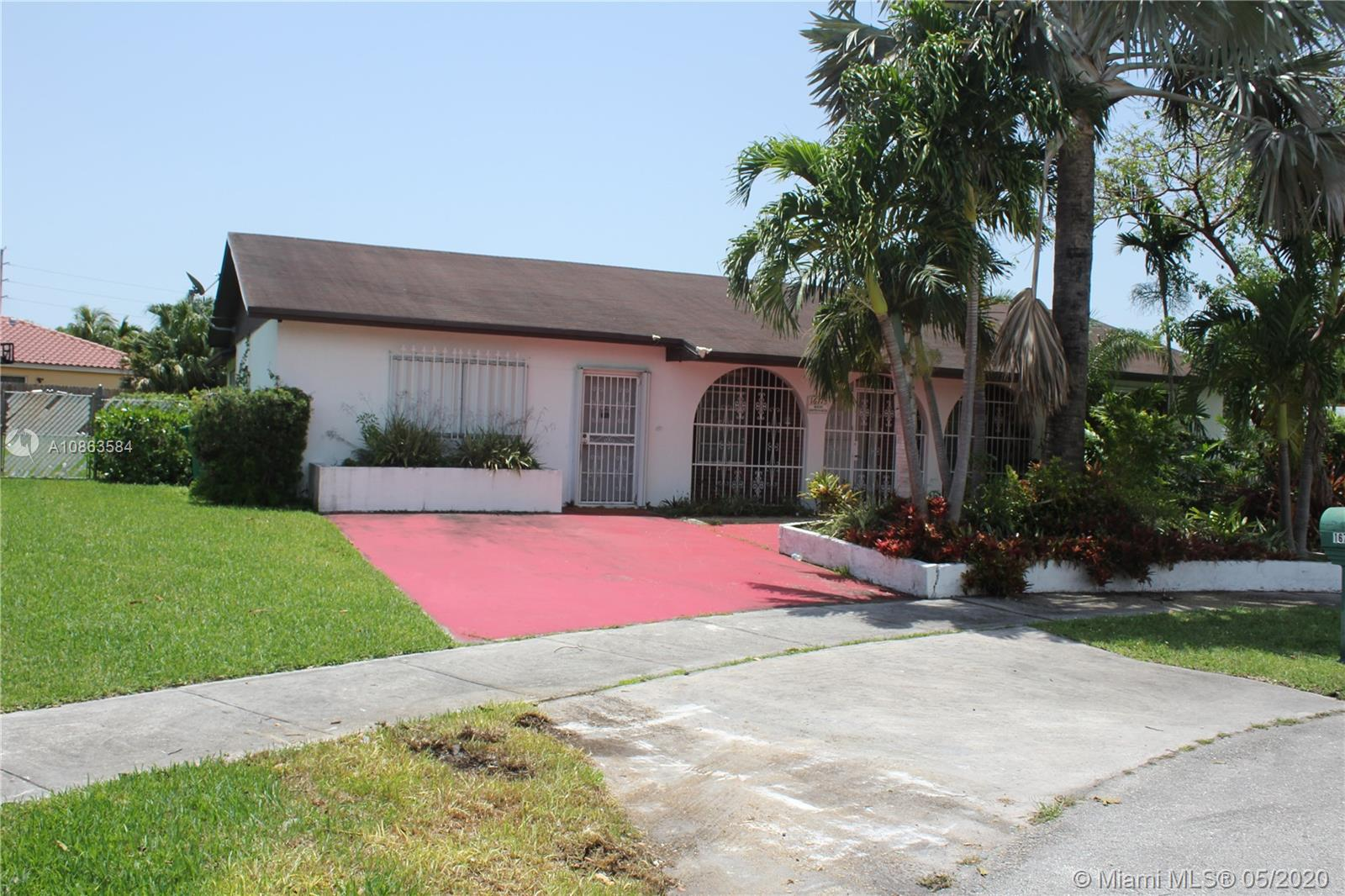16713 SW 107th Pl, Miami, Florida 33157, 3 Bedrooms Bedrooms, ,2 BathroomsBathrooms,Residential,For Sale,16713 SW 107th Pl,A10863584
