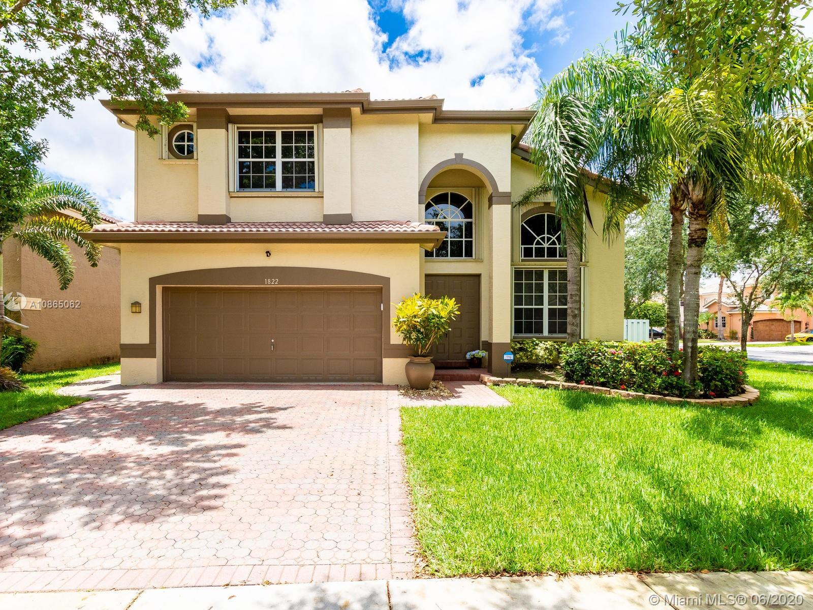 Property for sale at 1822 SW 152 Terrace, Miramar,  Florida 33027