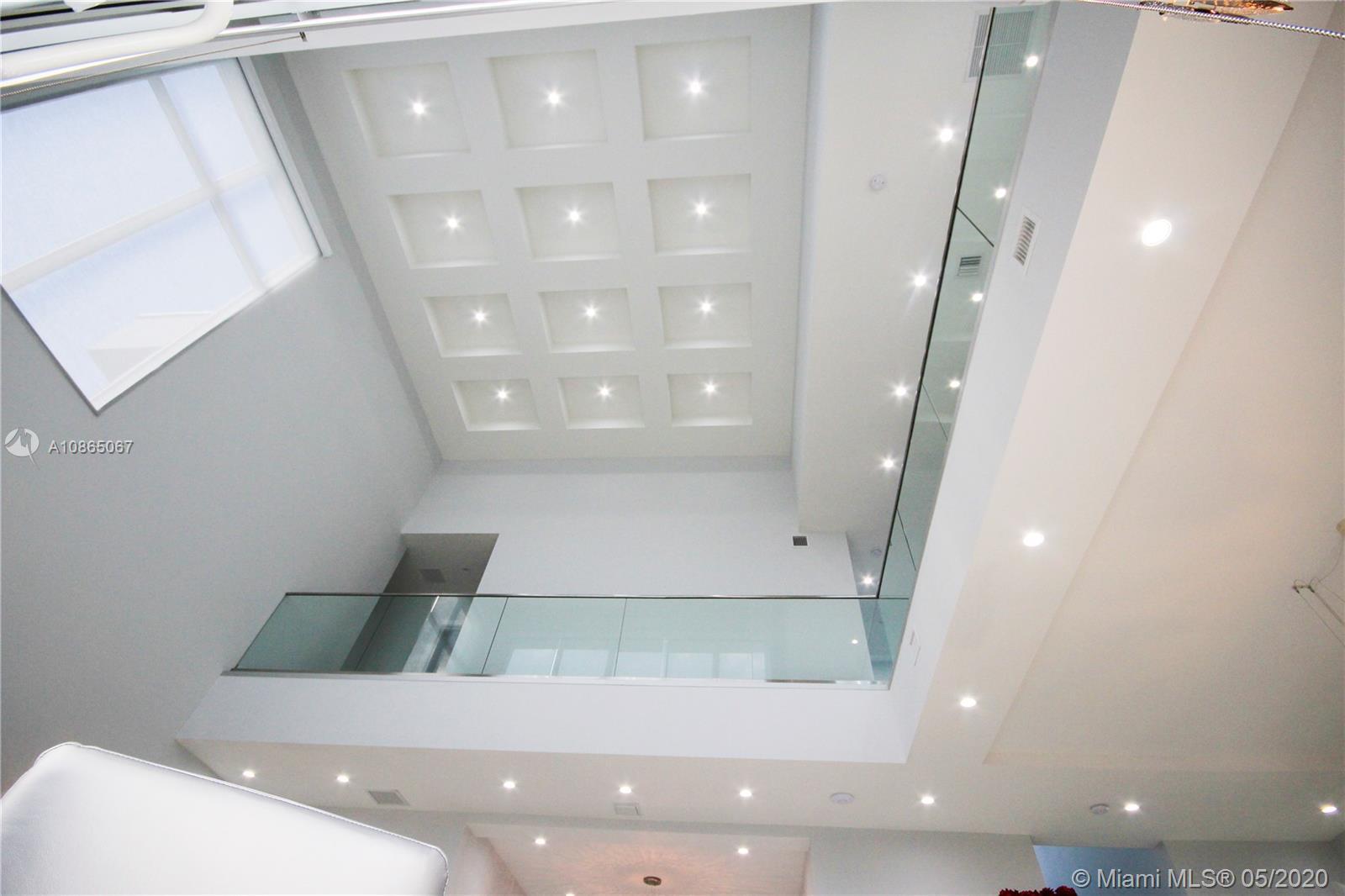 Vaulted ceilings.