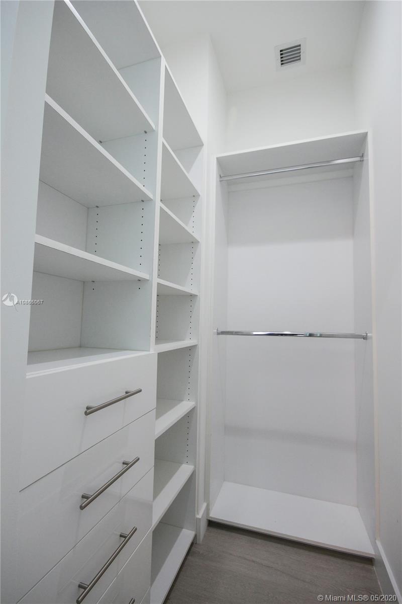 Third bedroom walk-in closet.