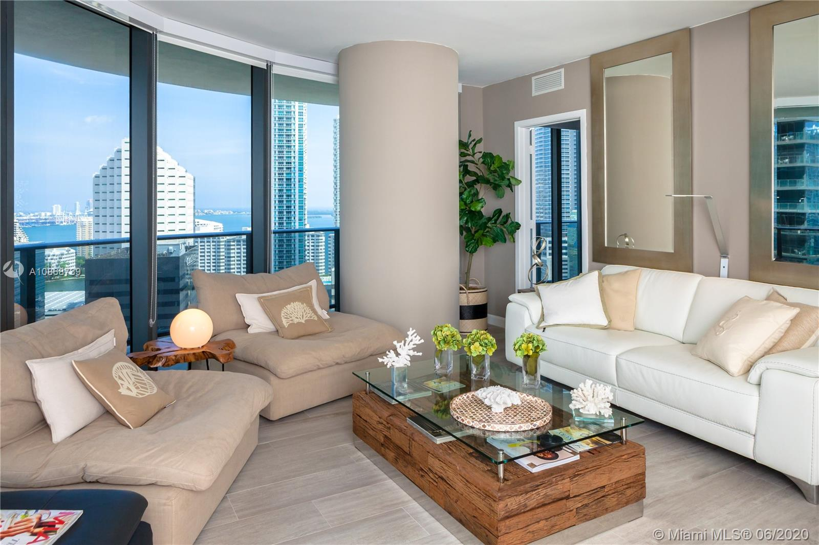 Brickell Heights East Tower #2401 - 45 SW 9 ST #2401, Miami, FL 33130