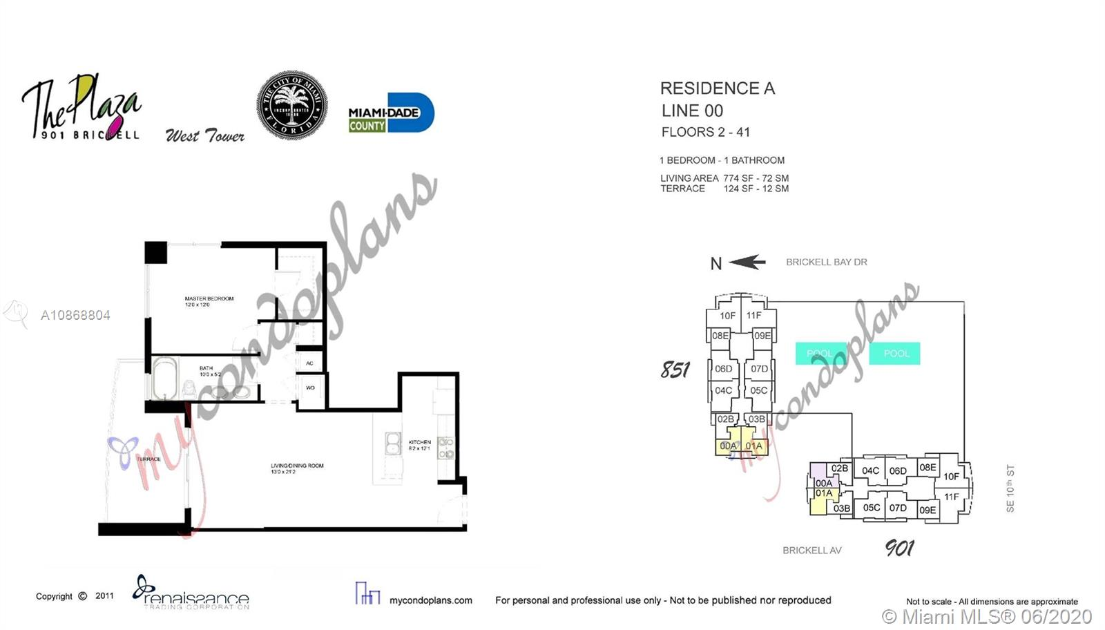 Photo of 951 Brickell Ave #400 listing for Sale