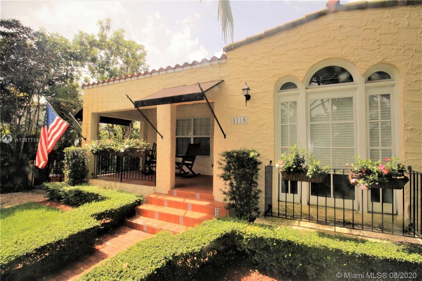 1118 Milan Ave, Coral Gables, Florida 33134, 2 Bedrooms Bedrooms, ,1 BathroomBathrooms,Residential,For Sale,1118 Milan Ave,A10871114