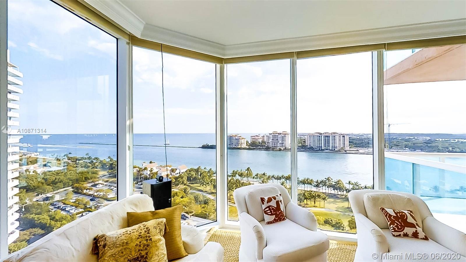 Portofino Tower #1601 - 300 S Pointe Dr #1601, Miami Beach, FL 33139