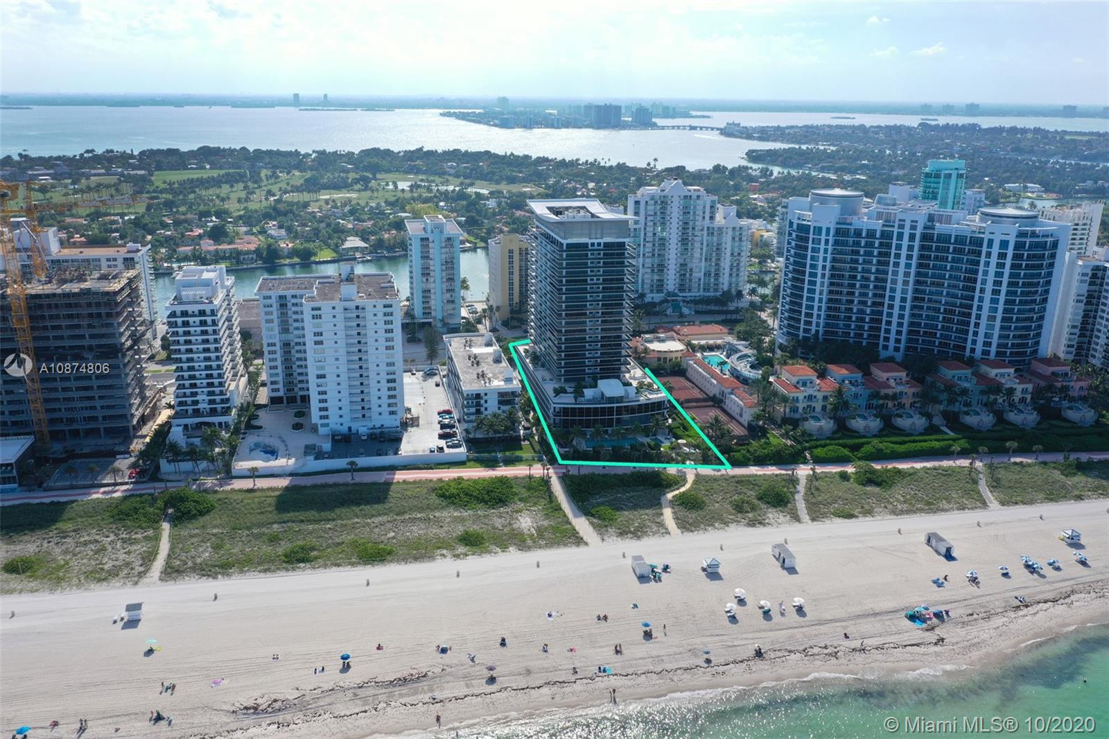 Photo of 5875 Collins Ave #504 listing for Sale